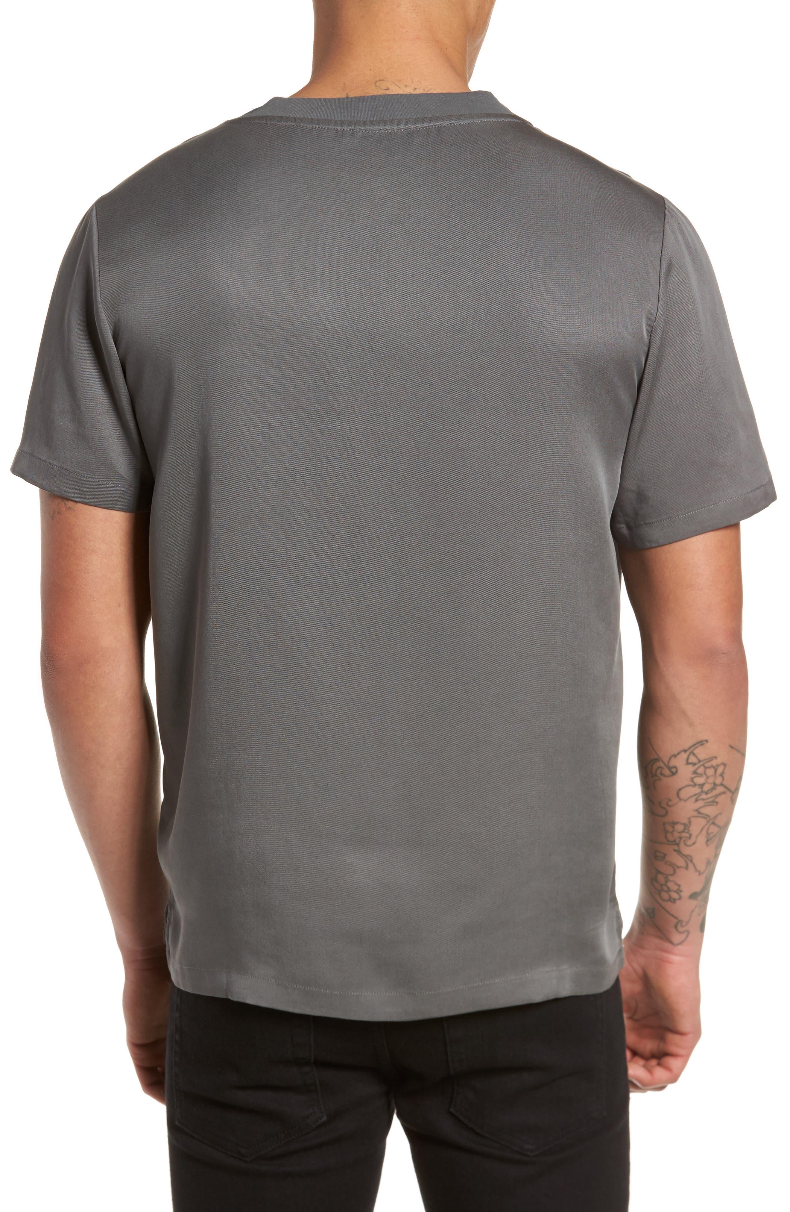 Denali Woven T-Shirt,                             Alternate thumbnail 2, color,                             Grey