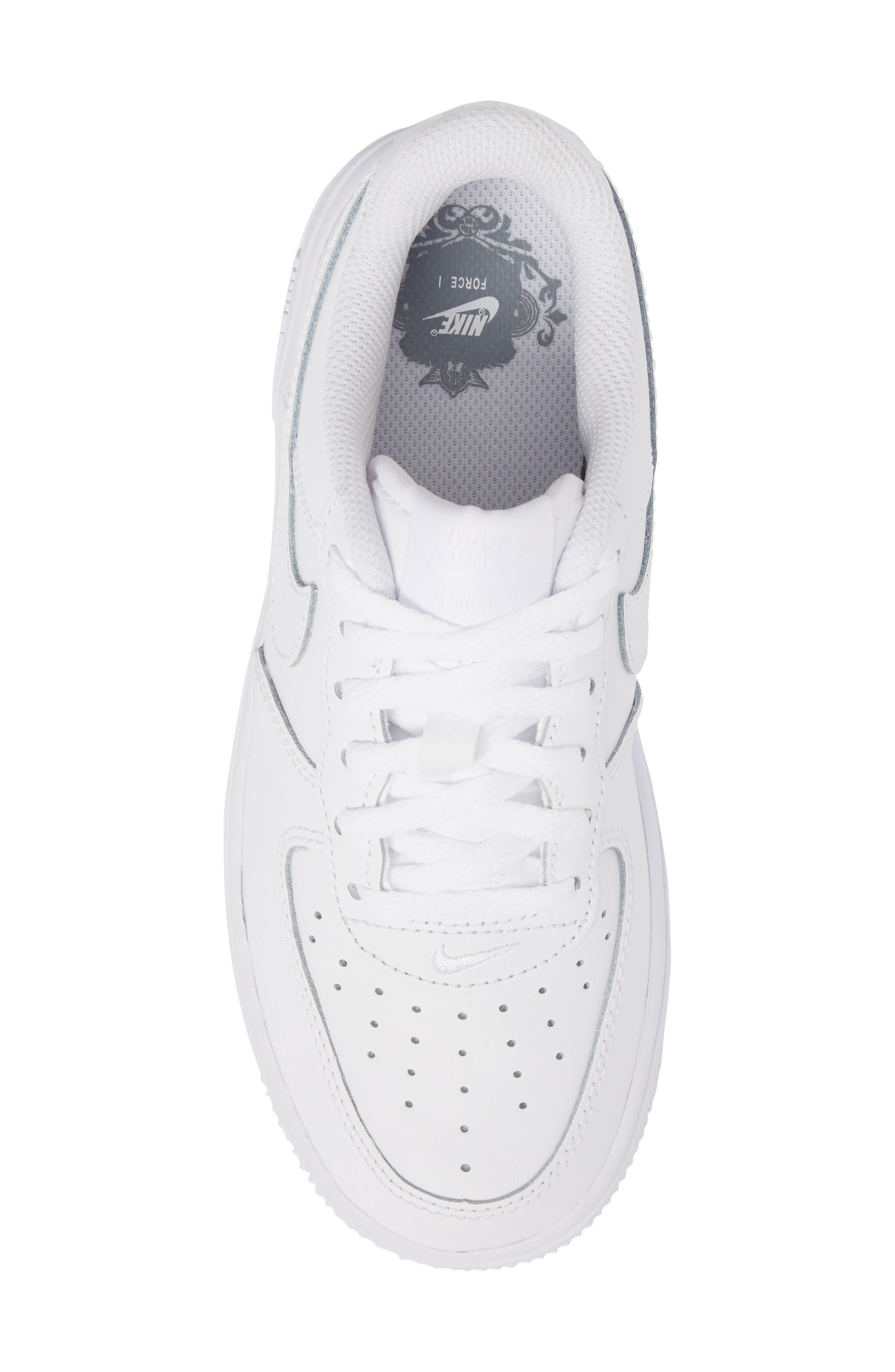 Alternate Image 5  - Nike Air Force 1 Sneaker (Toddler & Little Kid)