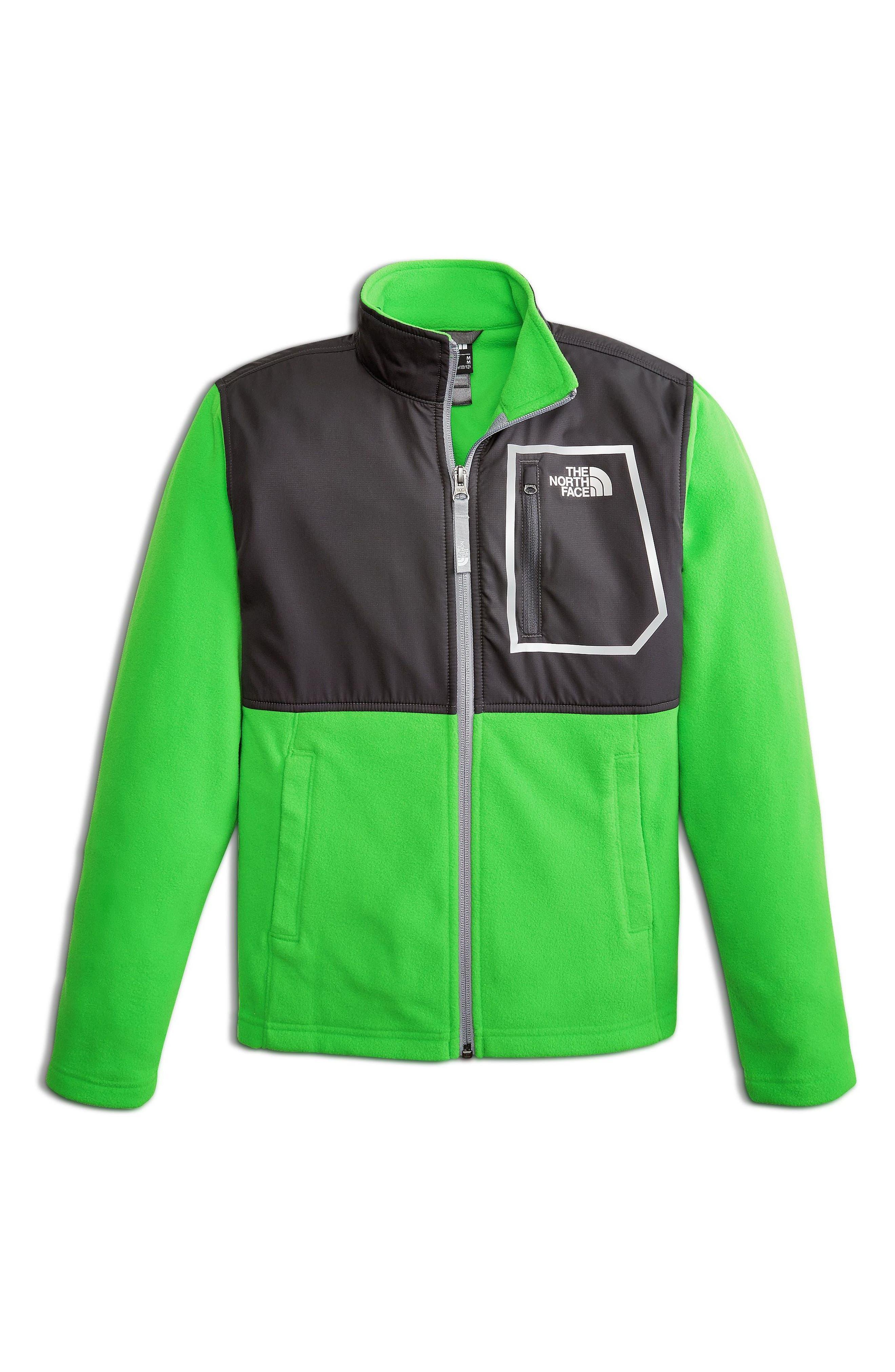 Glacier Track Jacket,                         Main,                         color, Classic Green
