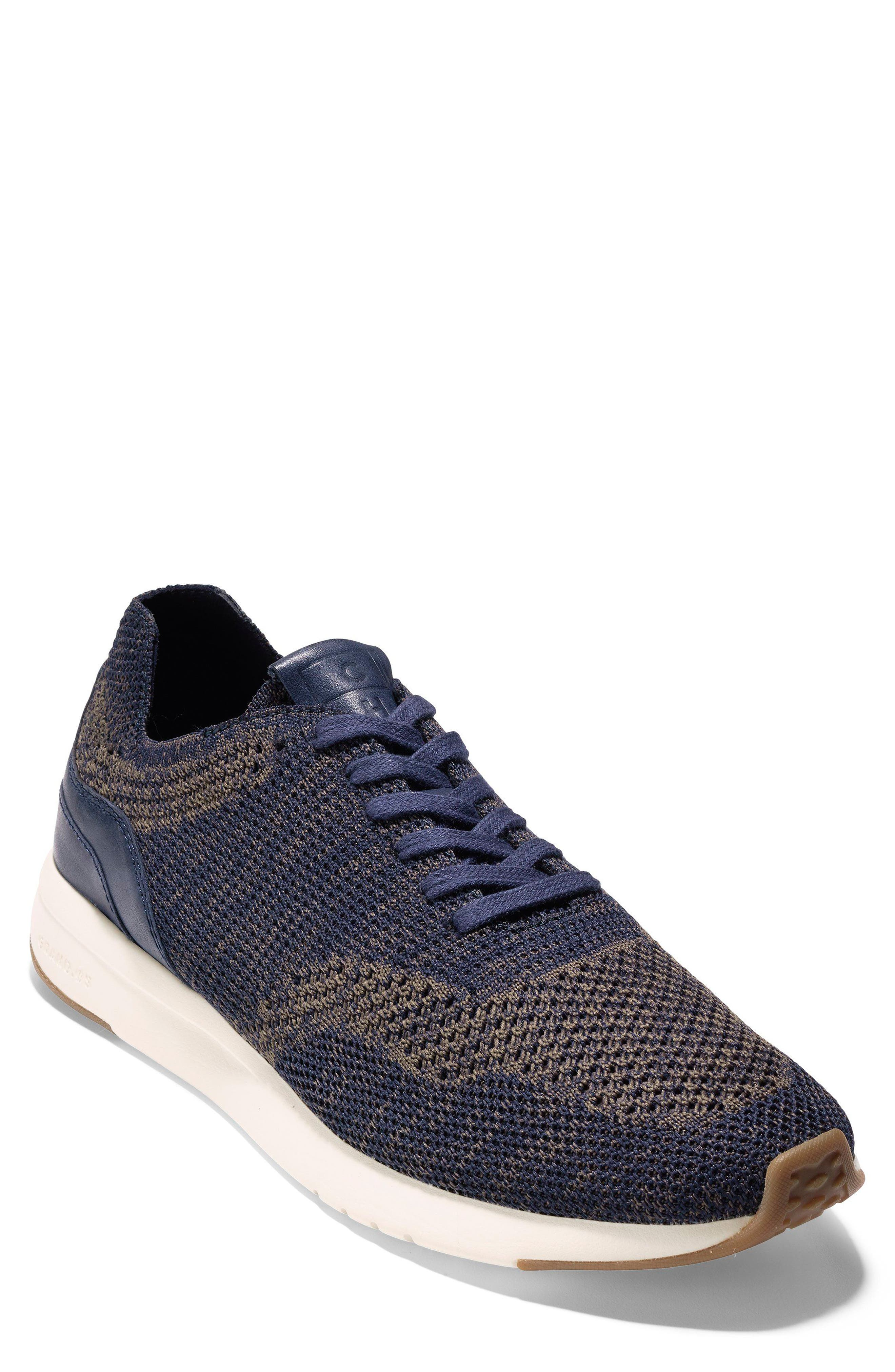 GrandPro Runner Stitchlite Sneaker,                             Main thumbnail 1, color,                             Navy Peony / Morel