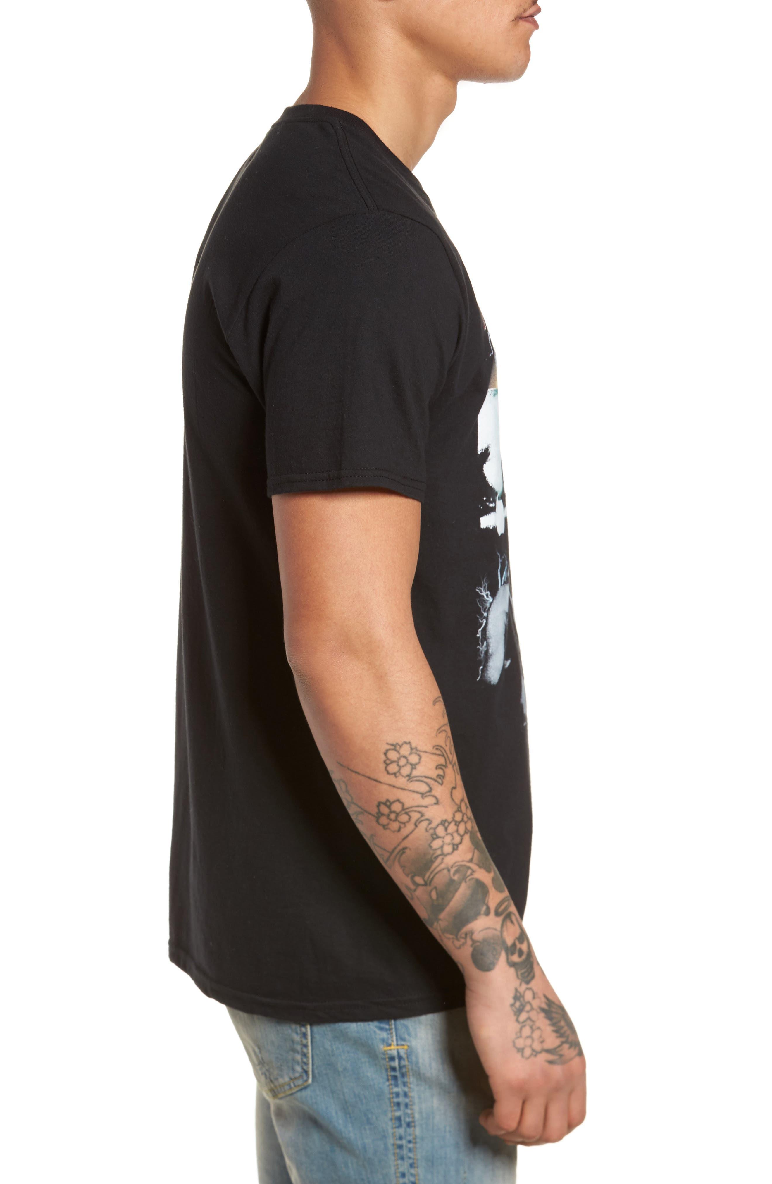Muhammad Ali Graphic T-Shirt,                             Alternate thumbnail 3, color,                             Black Tee Muhammad Ali