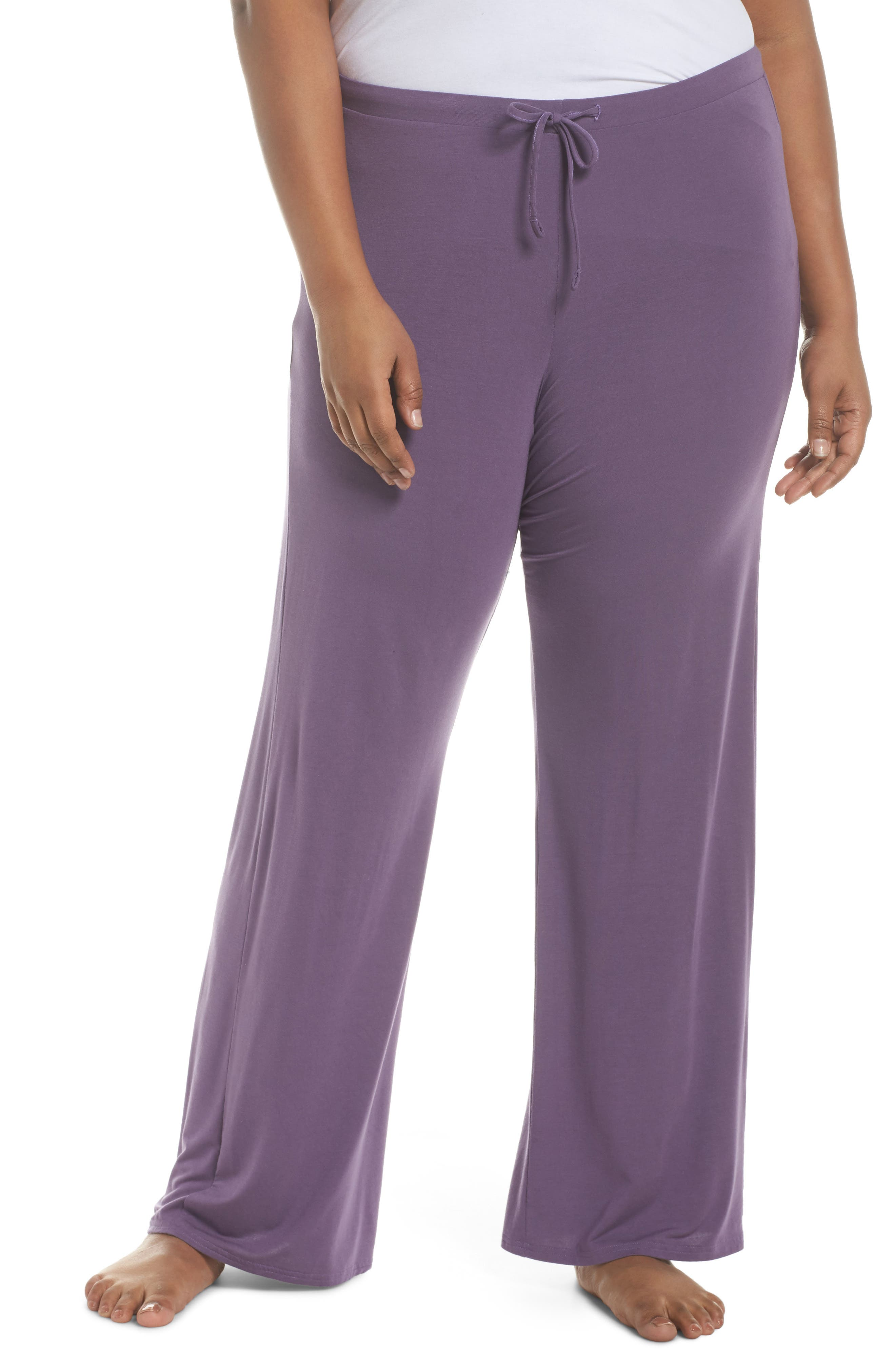 Breathe Lounge Pants,                         Main,                         color, Purple Mulled