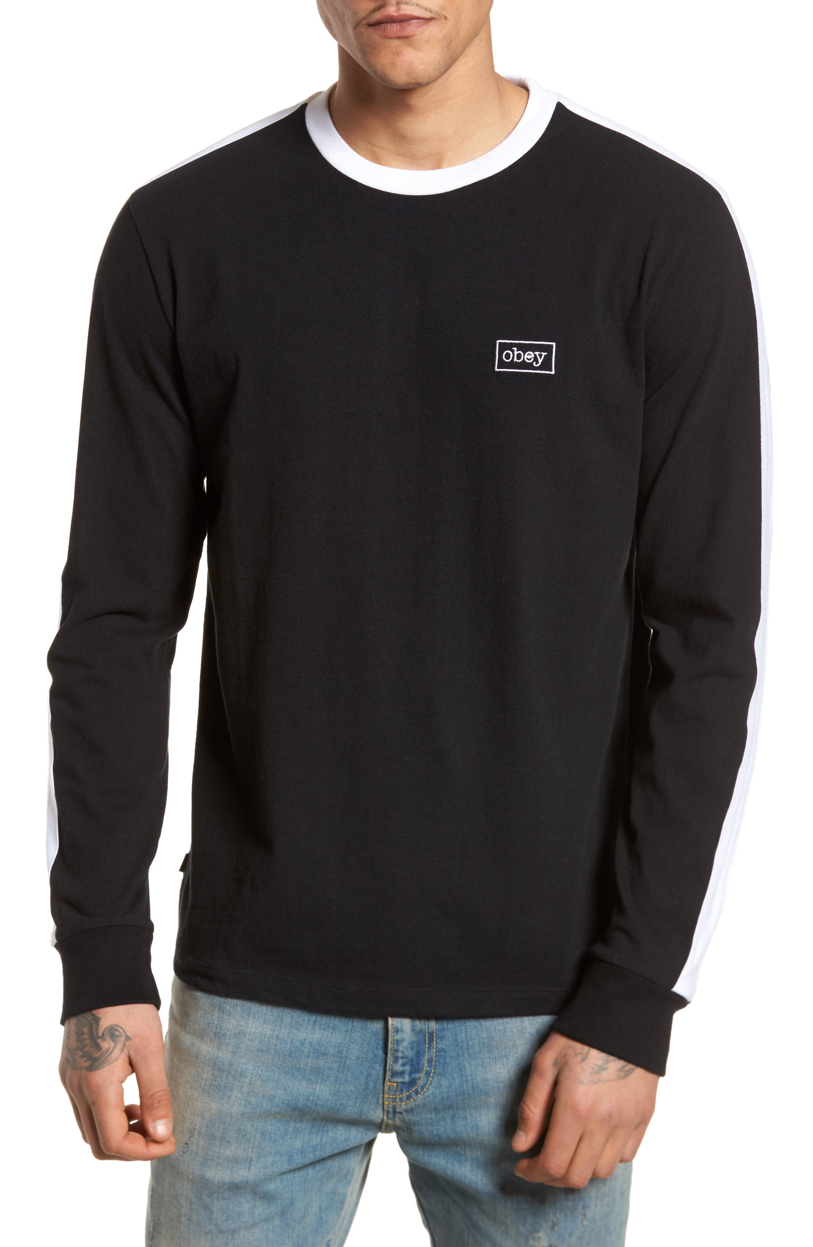 Borstal T-Shirt,                         Main,                         color, Black
