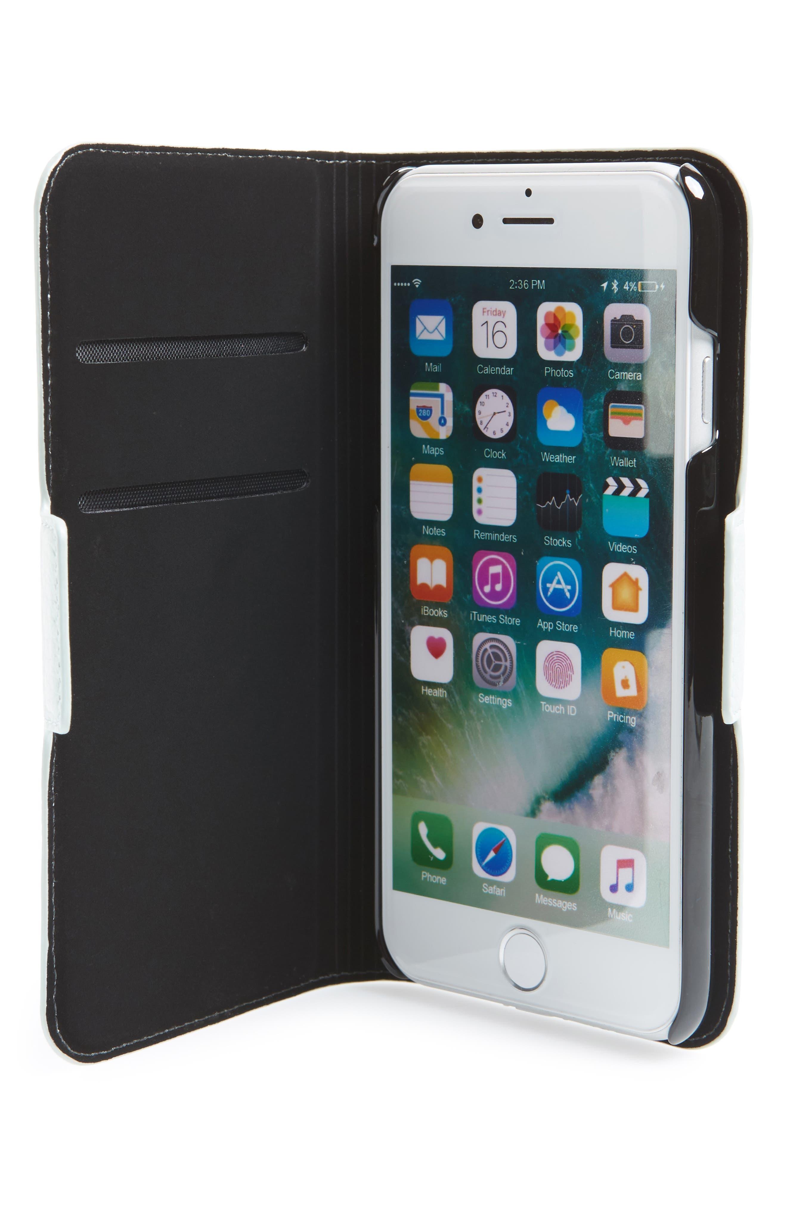 hello iPhone 7/8 & 7/8 Plus folio case,                             Alternate thumbnail 3, color,                             Misty Mint