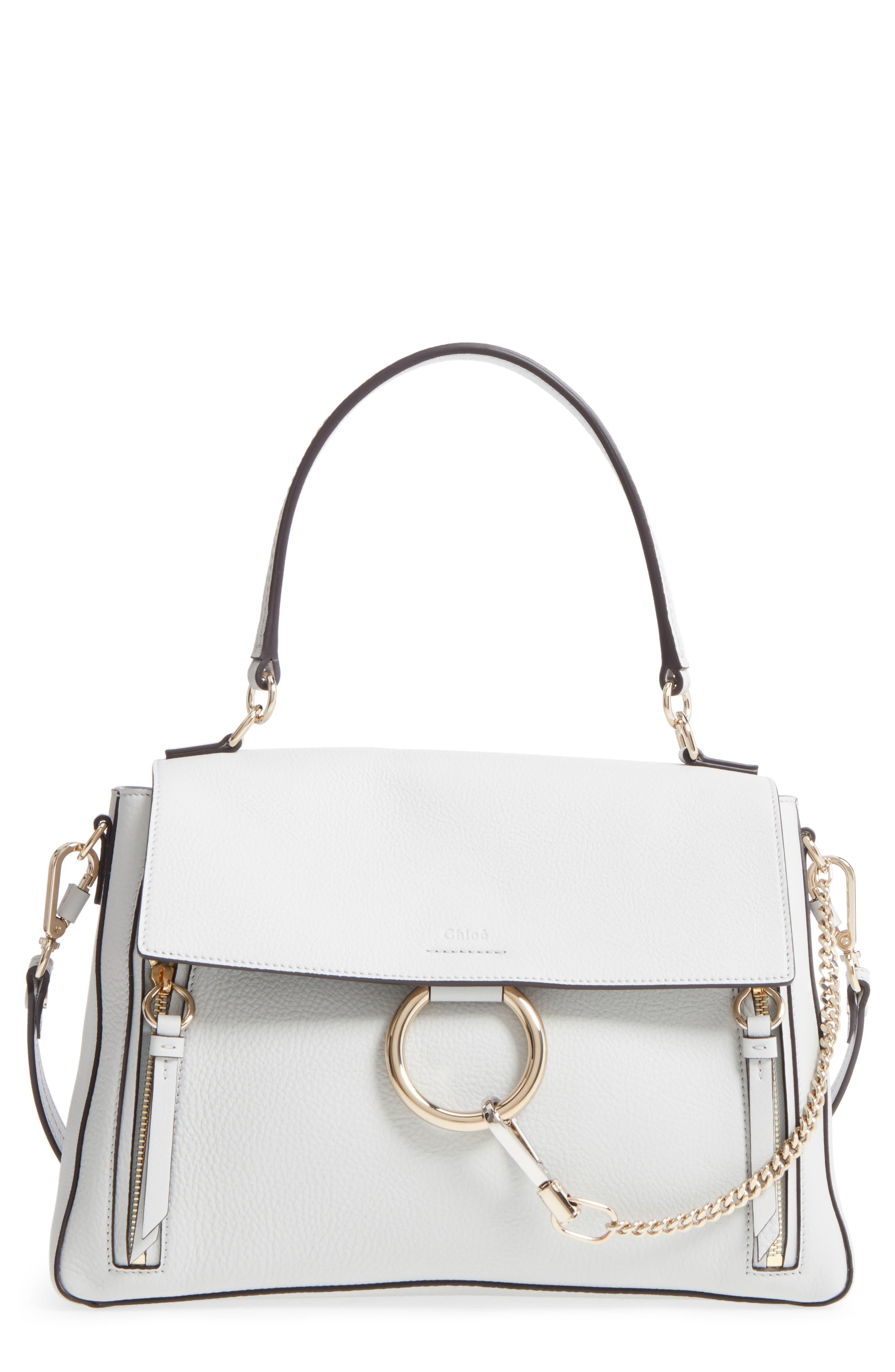 Alternate Image 1 Selected - Chloé Medium Faye Leather Shoulder Bag