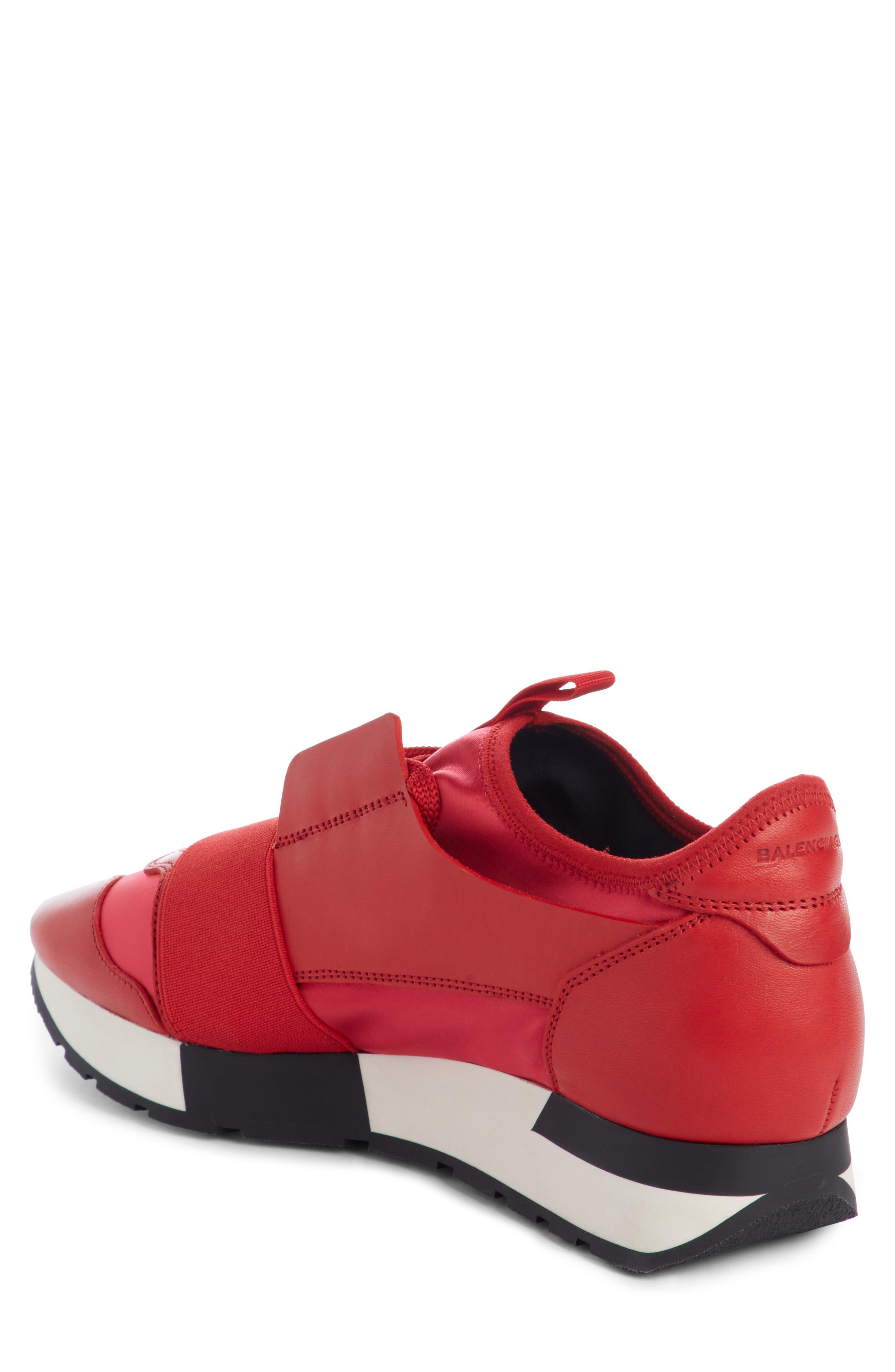 Alternate Image 2  - Balenciaga Mixed Media Trainer Sneaker (Women)