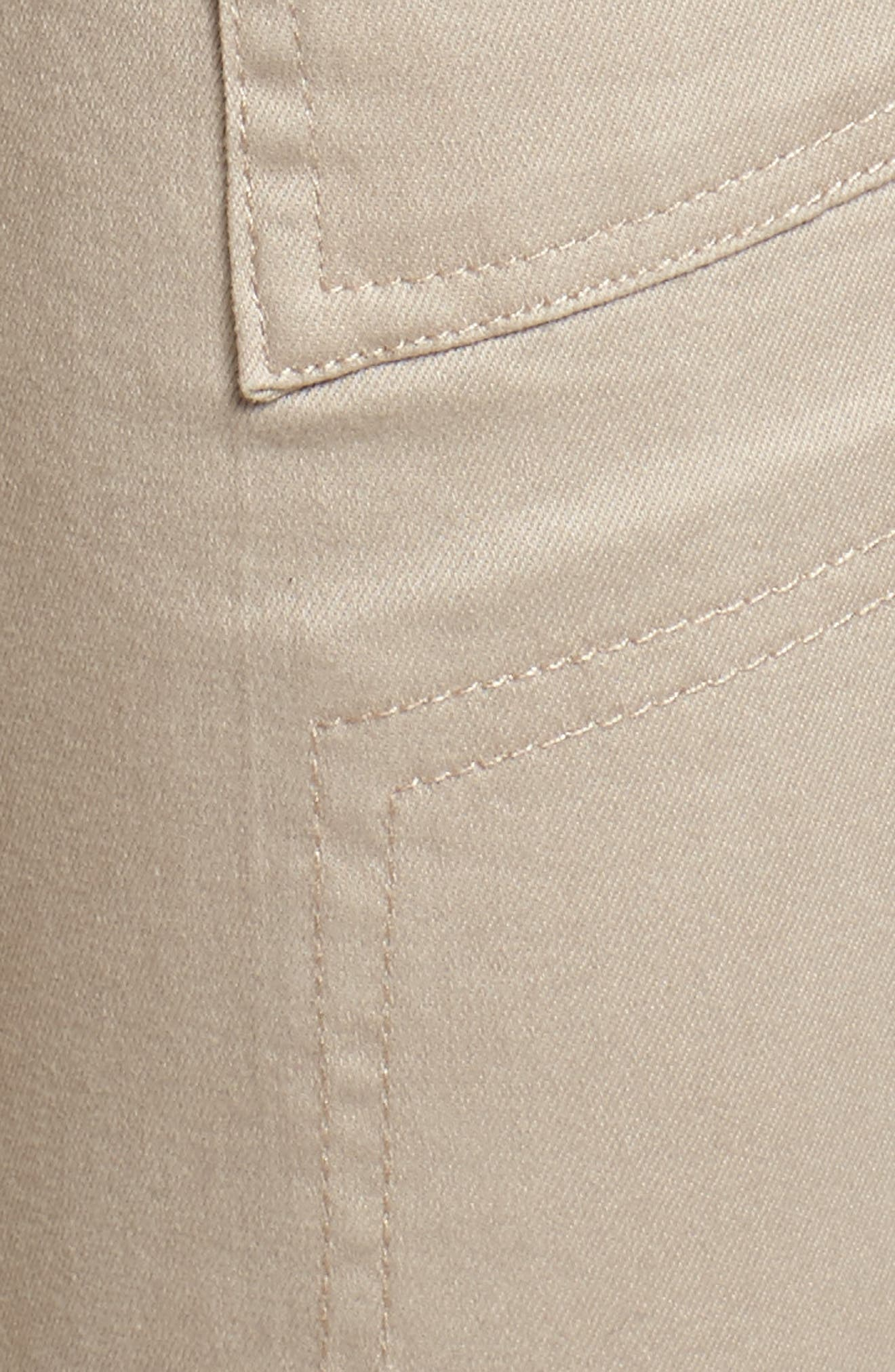 Twill Cargo Pants,                             Alternate thumbnail 6, color,                             Flax