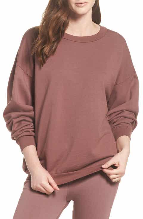 Michael Lauren Ellstan Oversize Boyfriend Sweatshirt