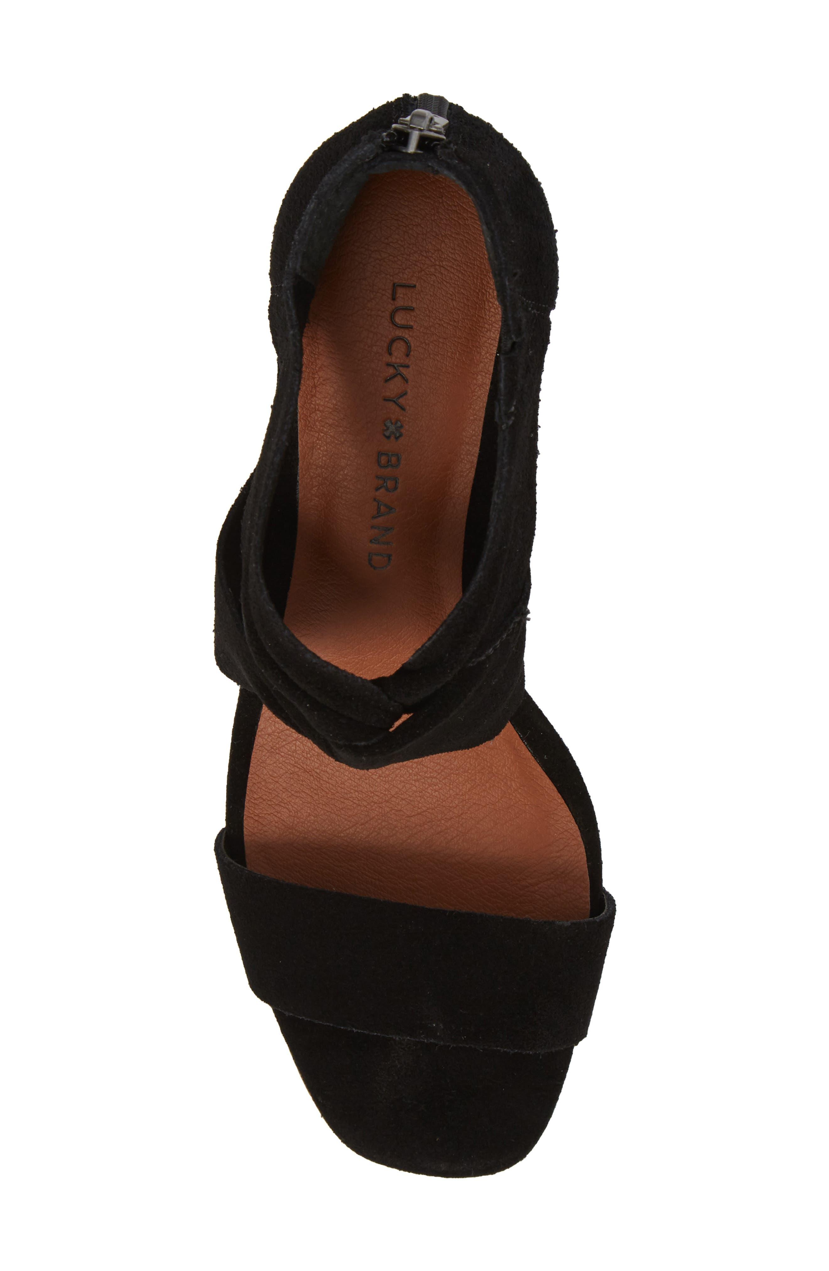 Alternate Image 5  - Lucky Brand Tammanee Wedge Sandal (Women)