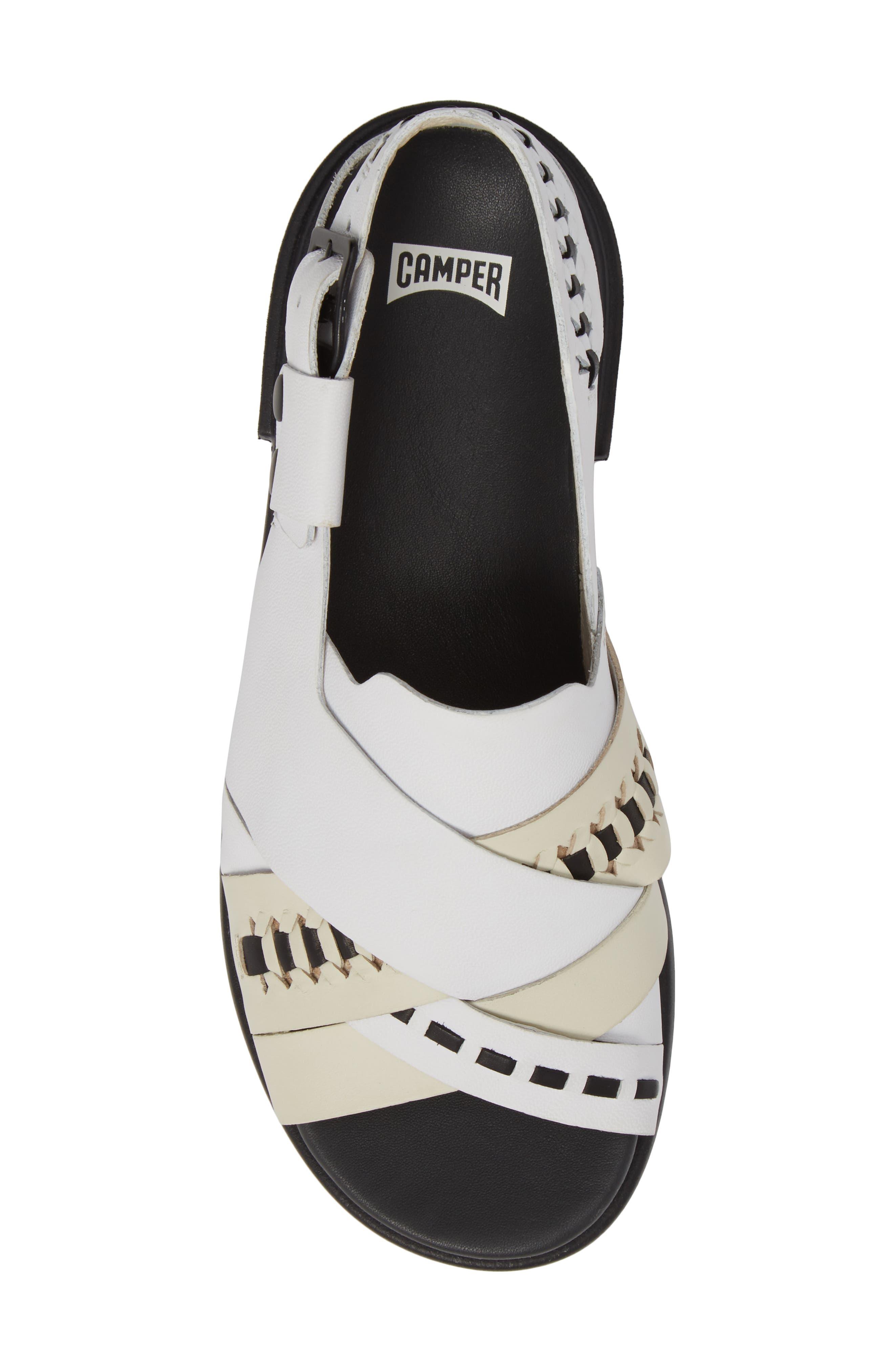 Twins Slingback Sandal,                             Alternate thumbnail 6, color,                             Multi - Assorted Leather