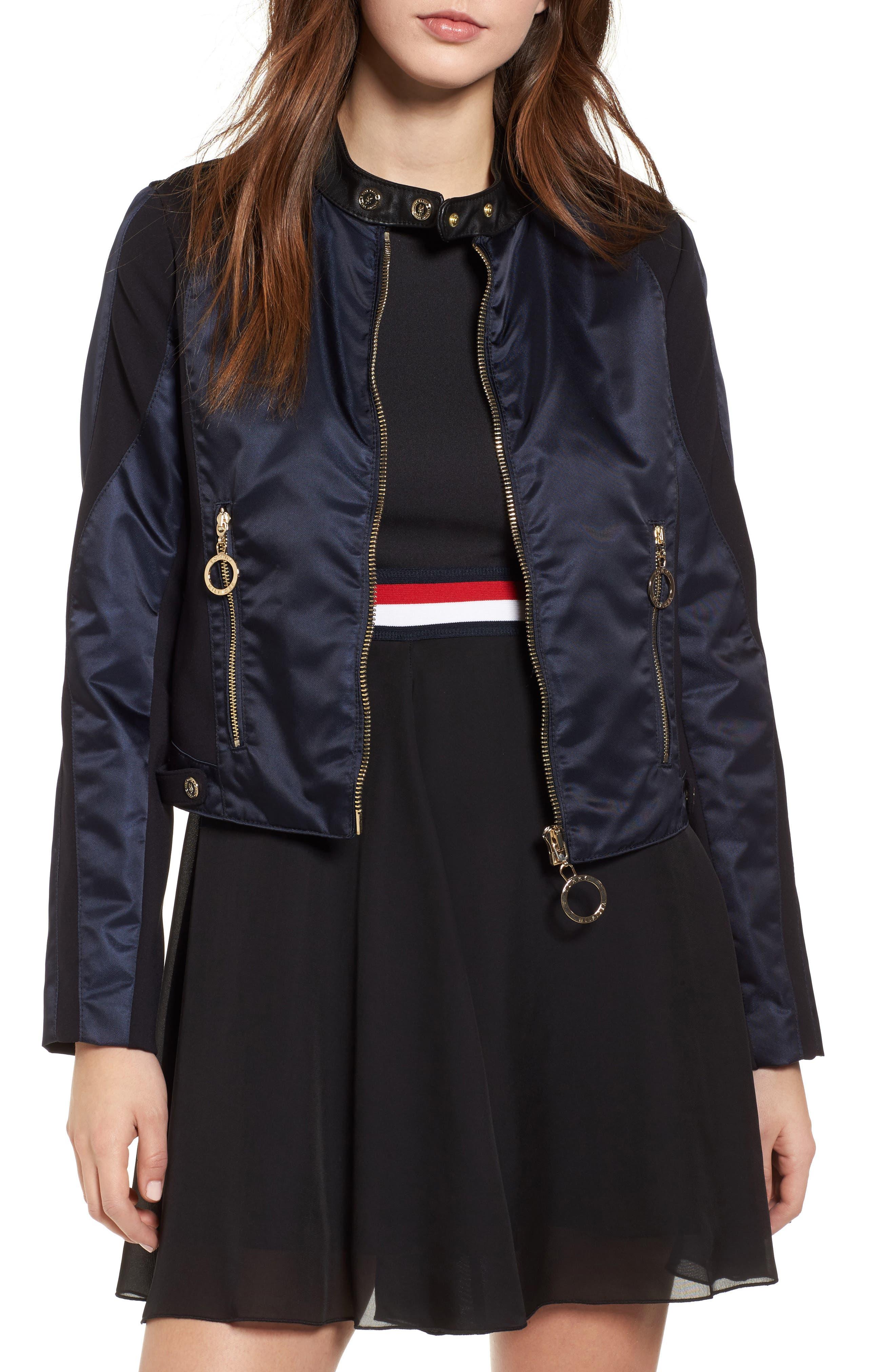 TOMMY JEANS x Gigi Hadid Nylon Moto Jacket