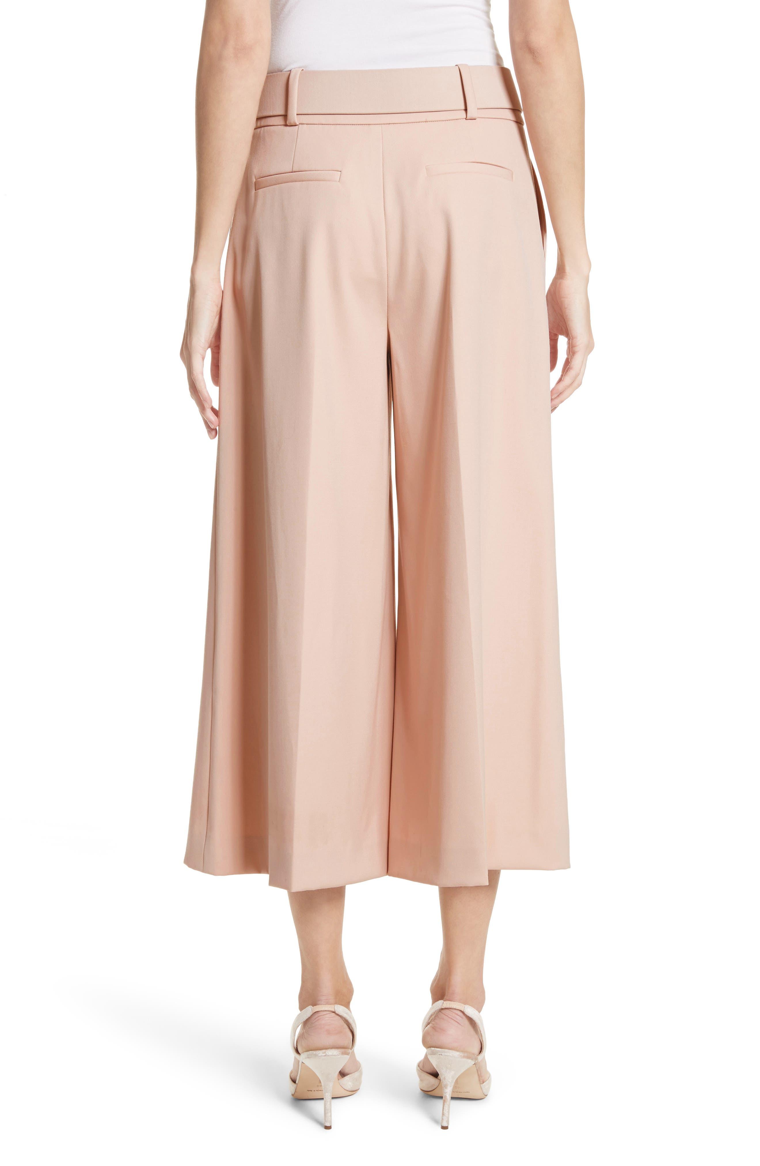 Alternate Image 3  - Oscar de la Renta Stretch Wool Gabardine Culottes