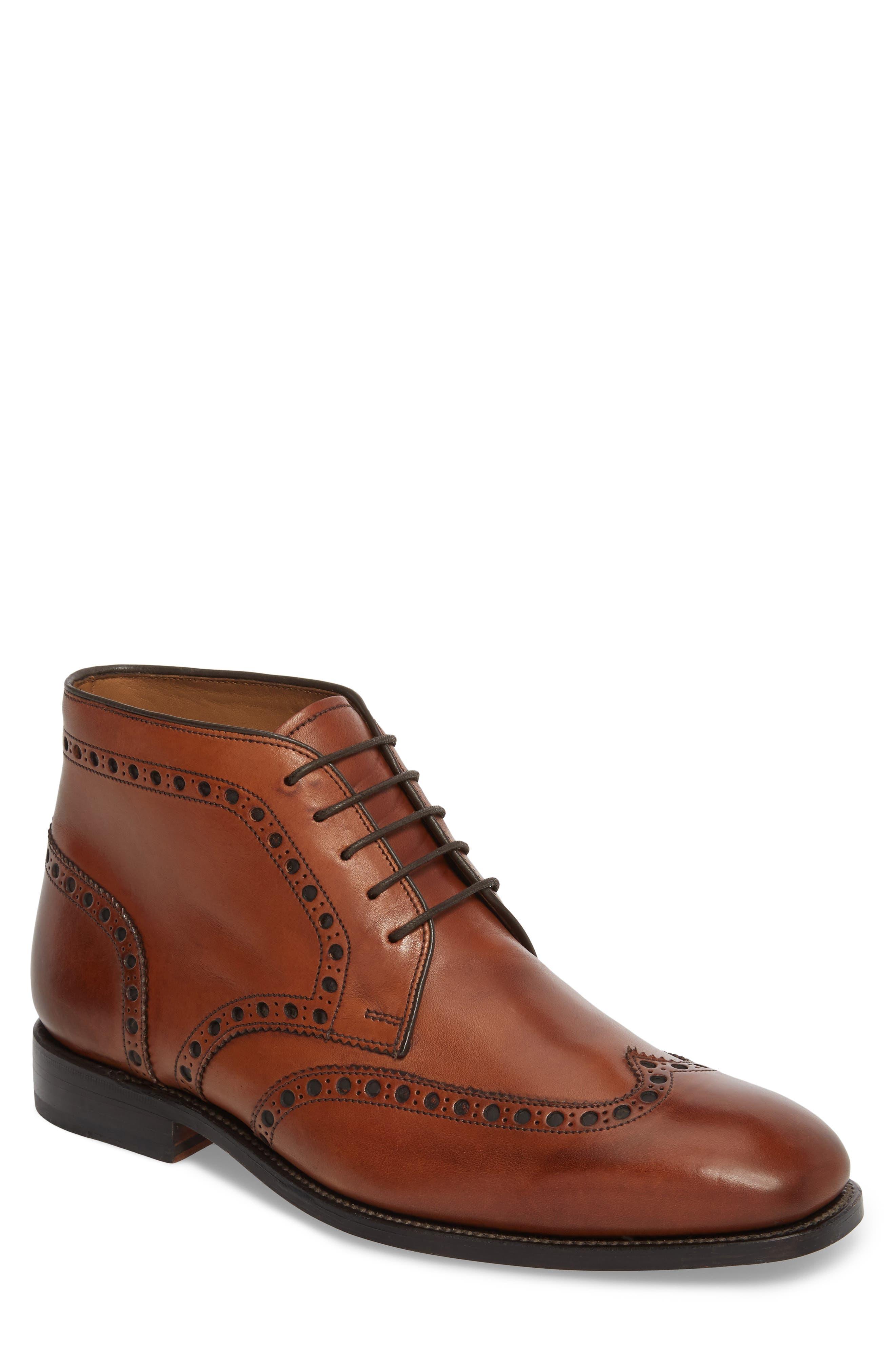 Presidio Wingtip Chukka Boot,                         Main,                         color, Cognac