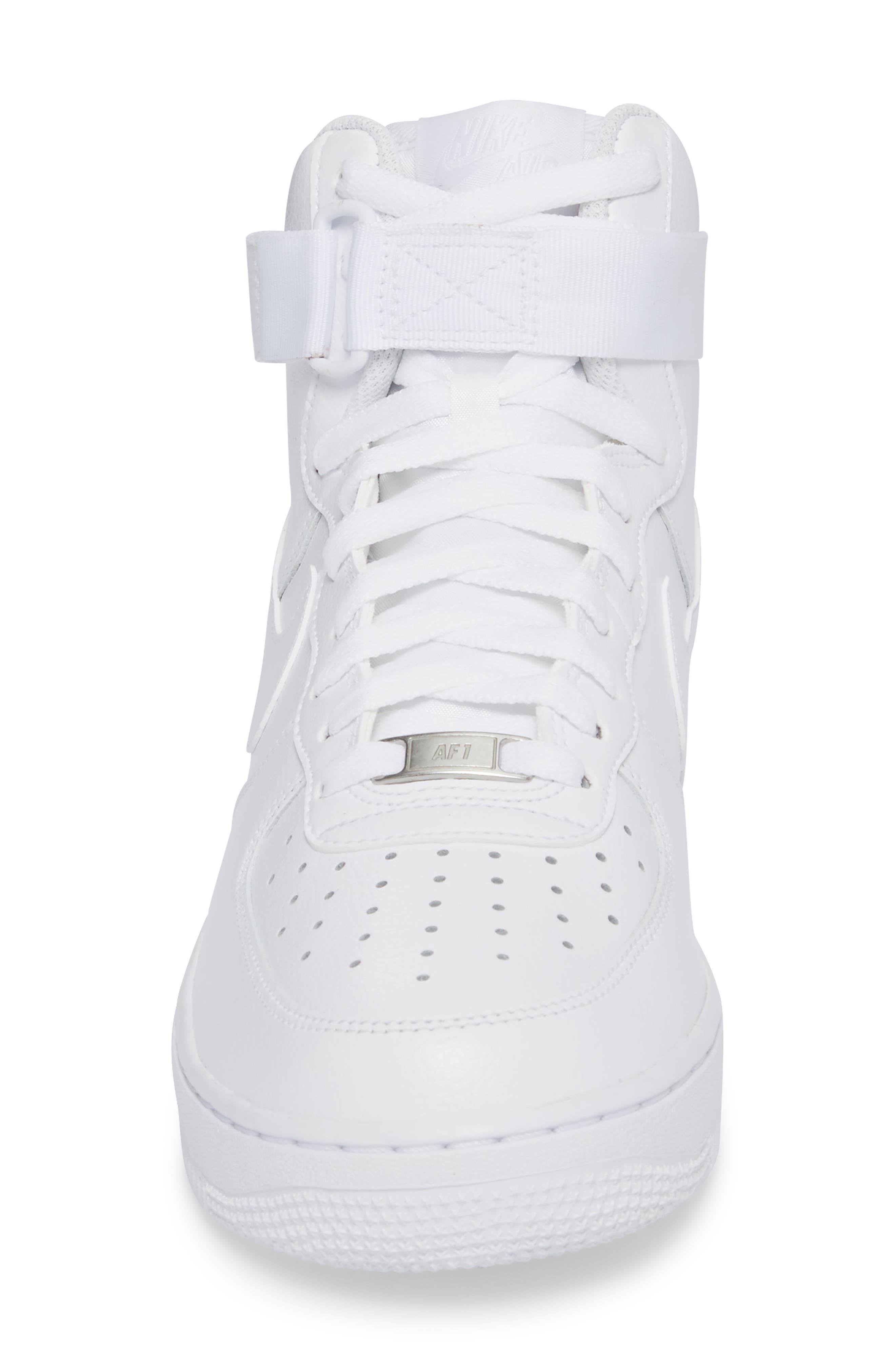 Alternate Image 4  - Nike Air Force 1 High '07 Sneaker (Men)