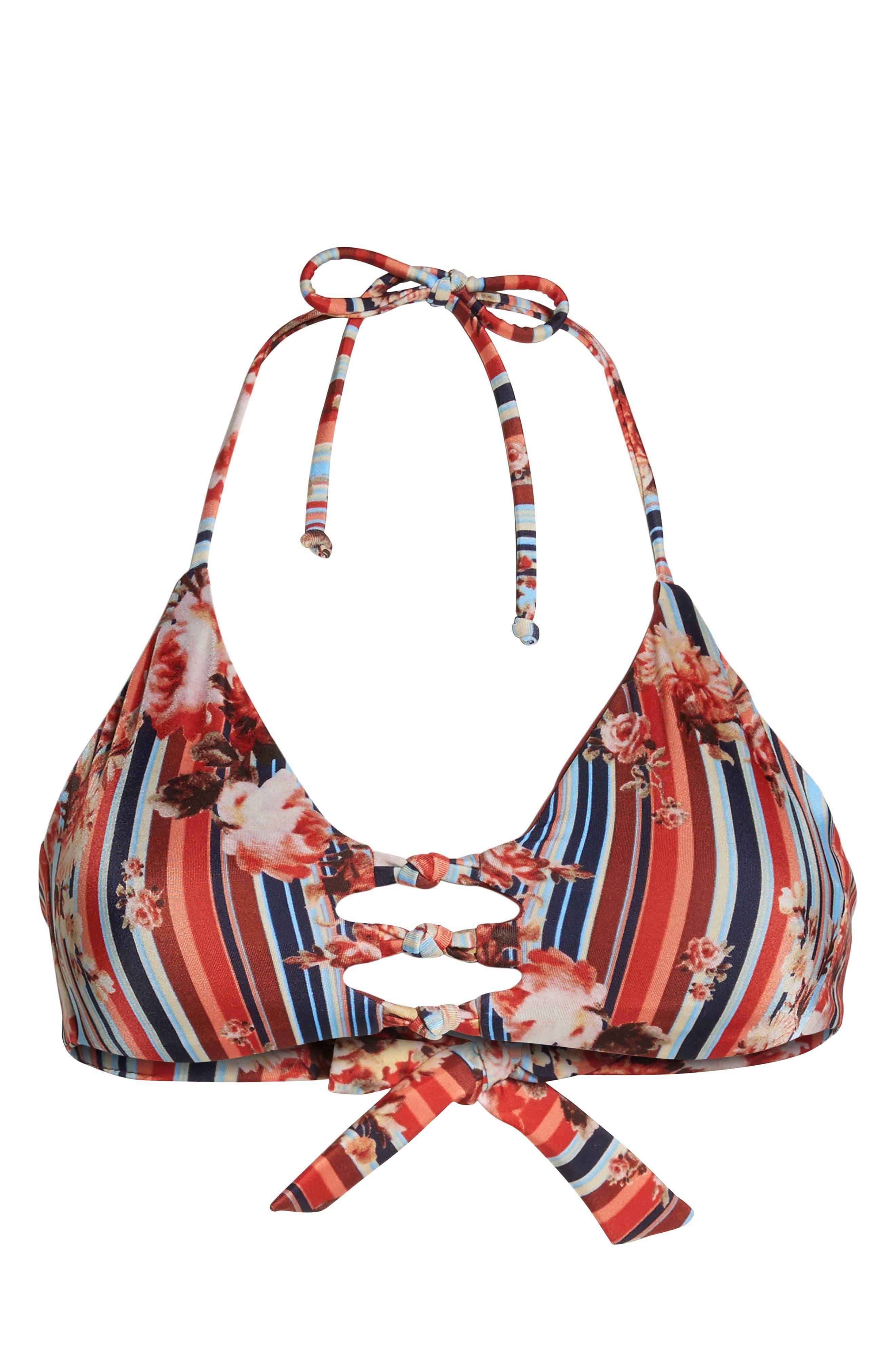 Alternate Image 9  - BCA Love Letters Halter Bikini Top