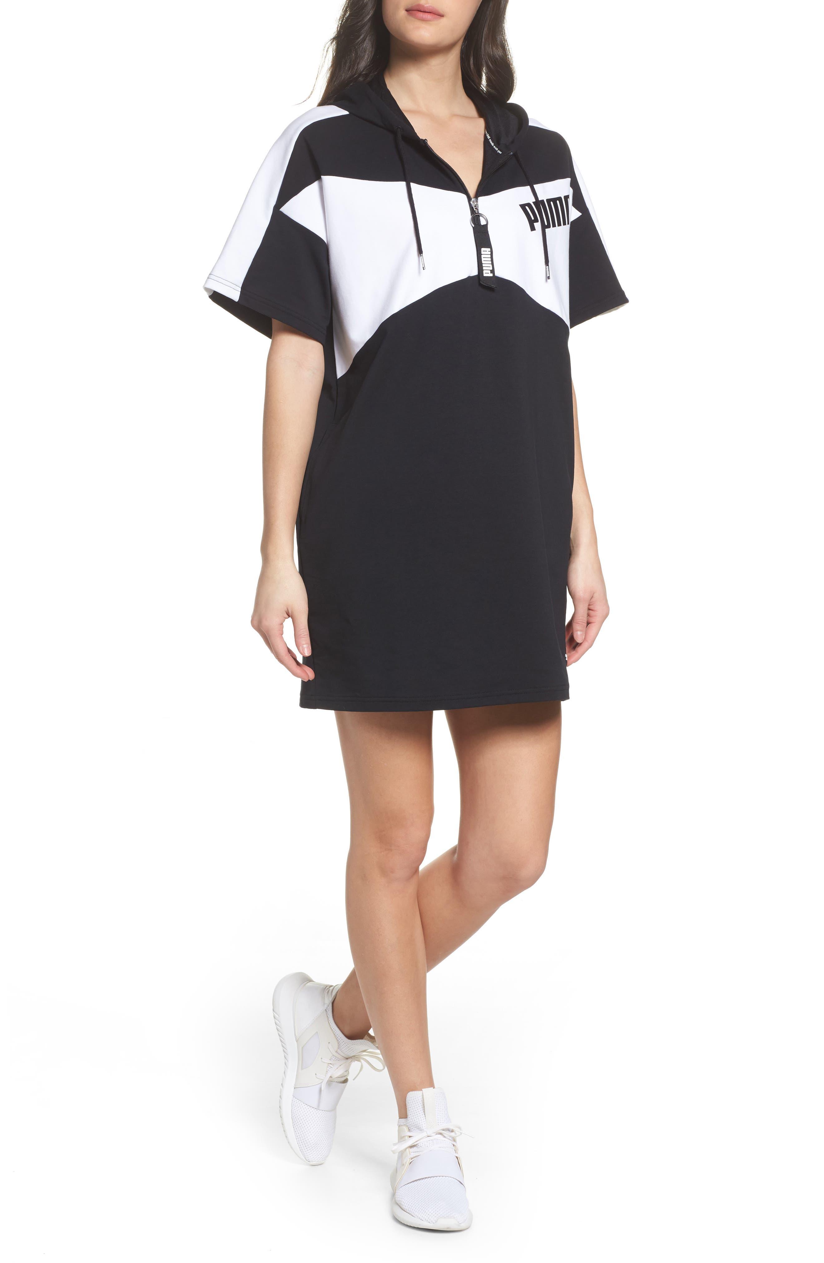 Archive Dress,                             Main thumbnail 1, color,                             Puma Black