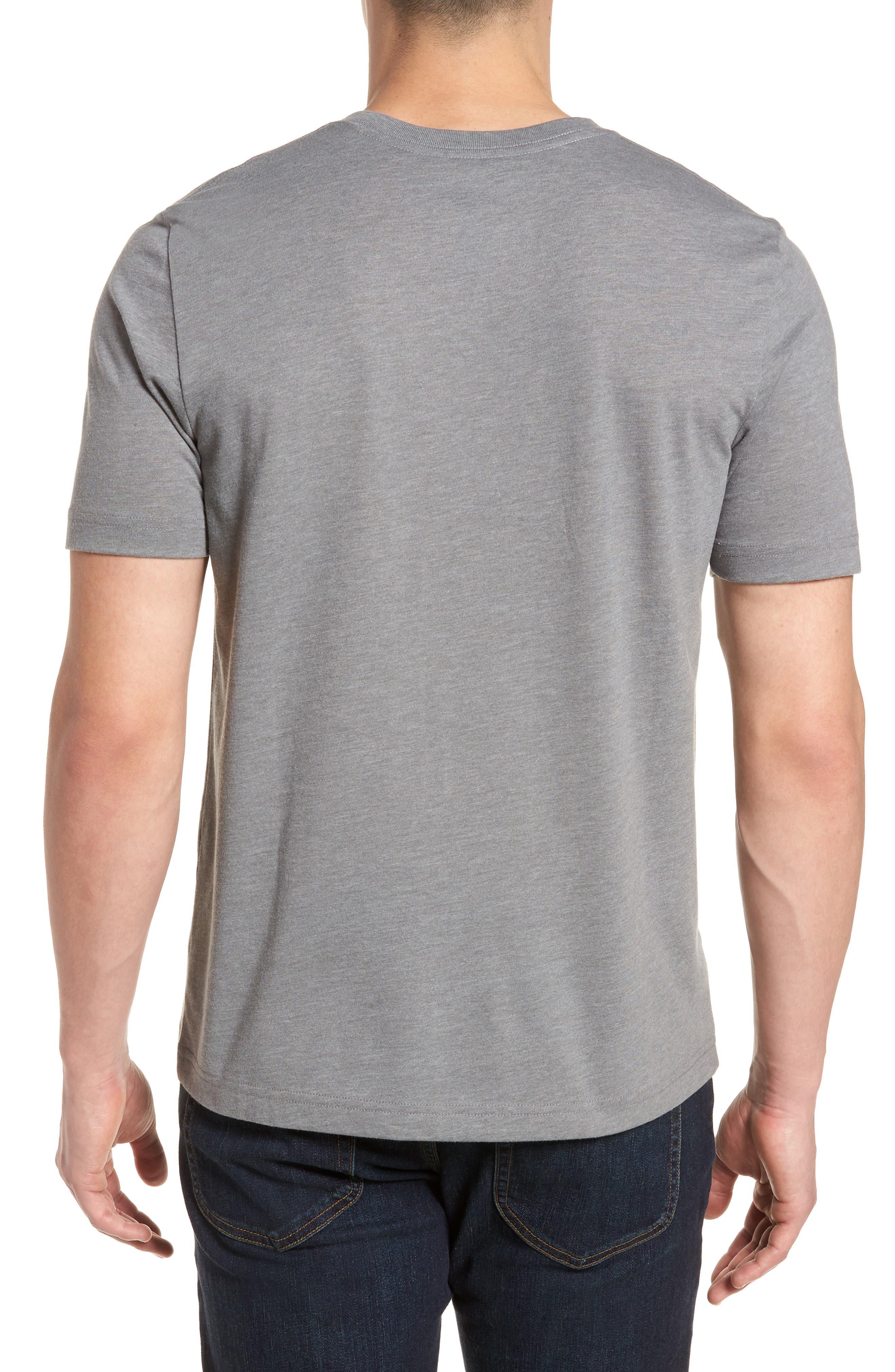 Chappy Doo Pocket T-Shirt,                             Alternate thumbnail 2, color,                             Heather Grey