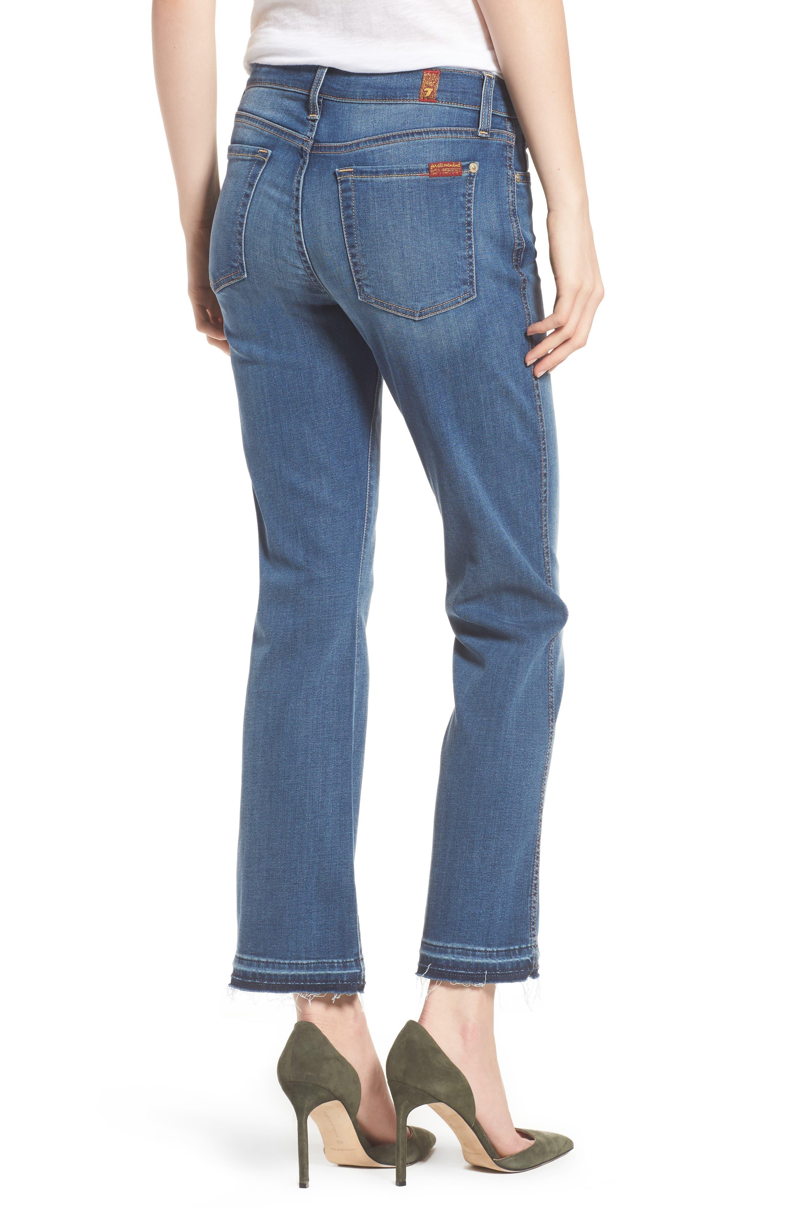 b(air) Crop Bootcut Jeans,                             Alternate thumbnail 2, color,                             Bair Vintage Dusk