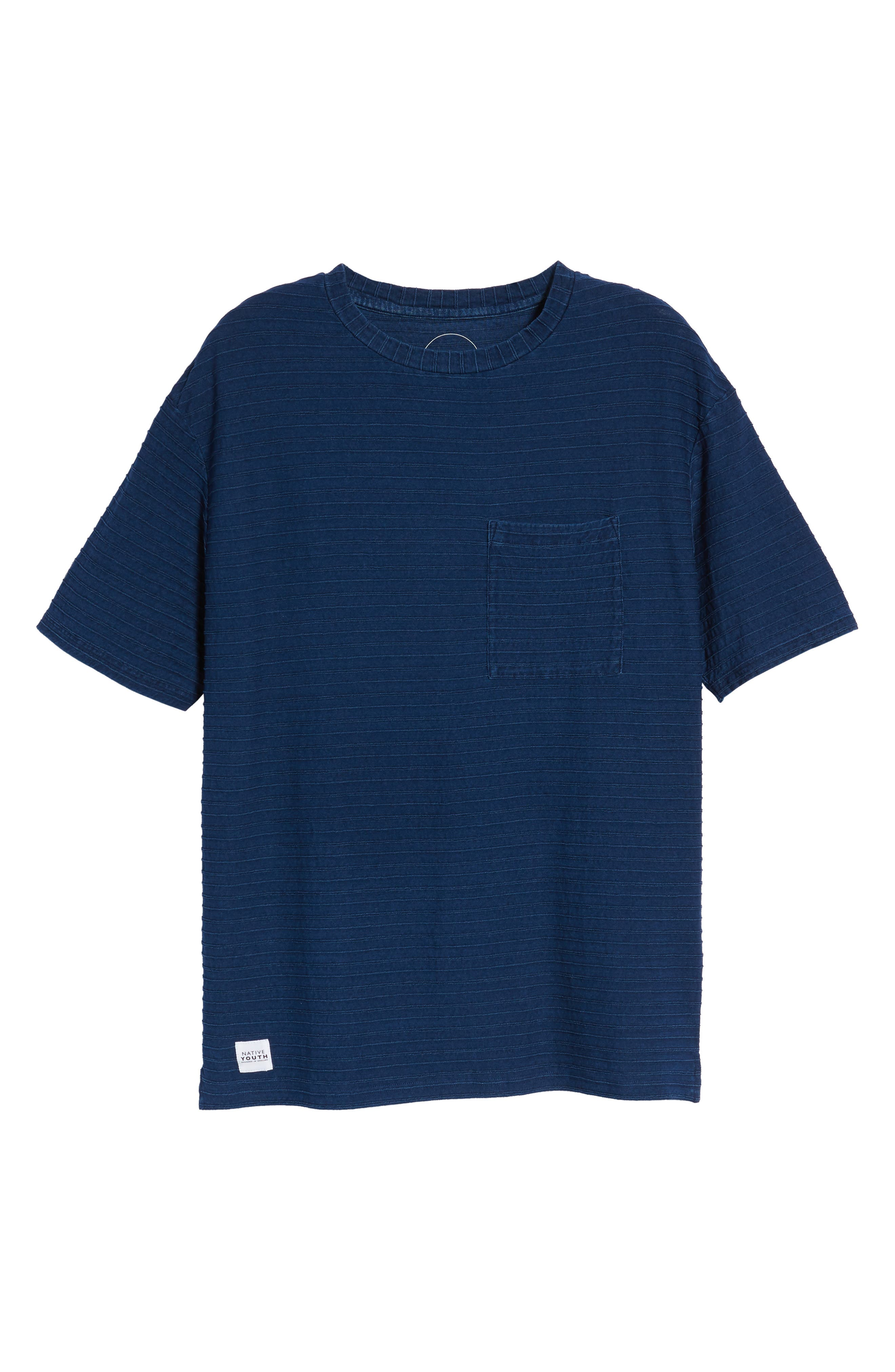 Tidal T-Shirt,                             Alternate thumbnail 6, color,                             Indigo