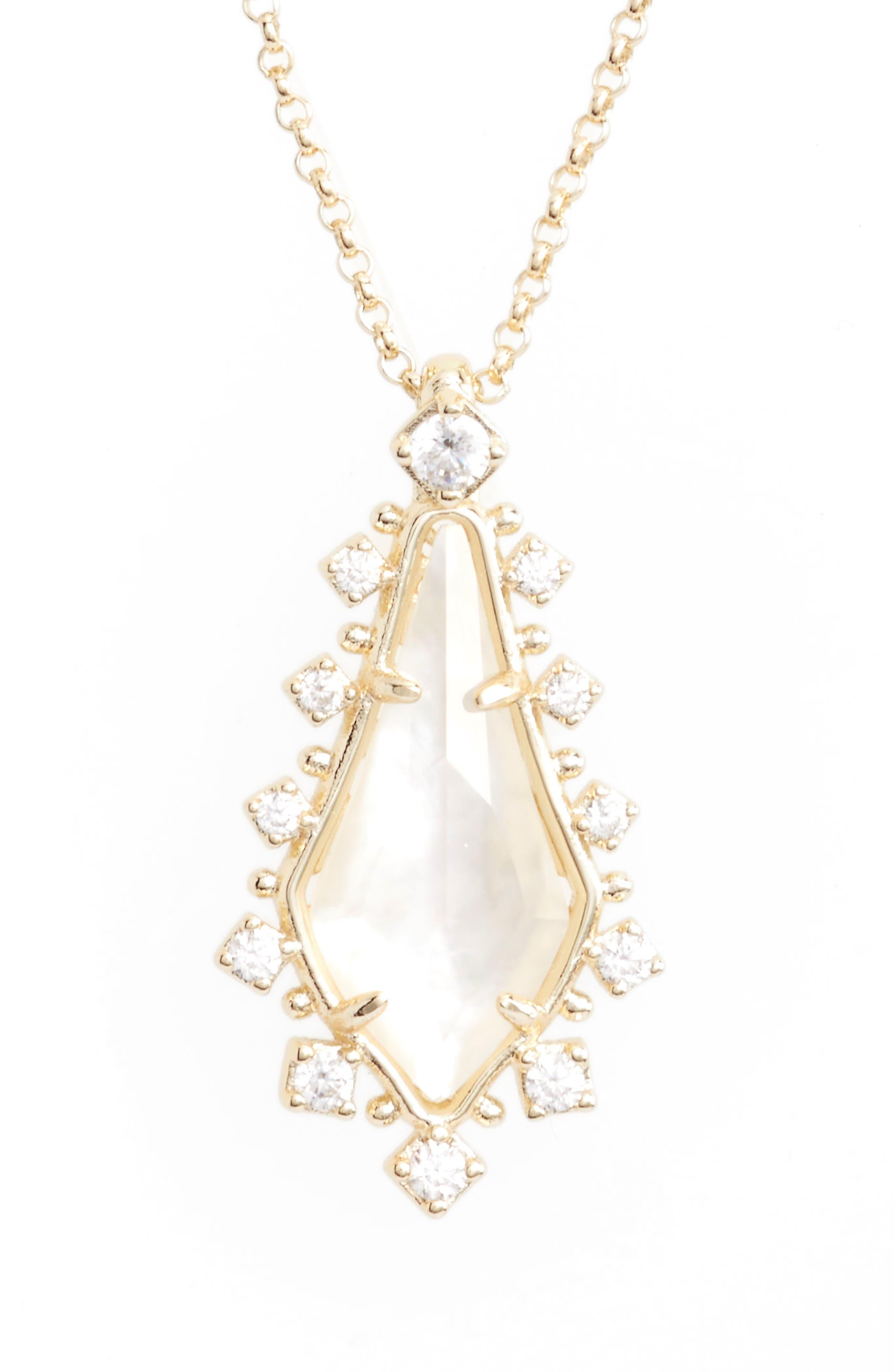 Kendra Scott Shelly Pendant Necklace