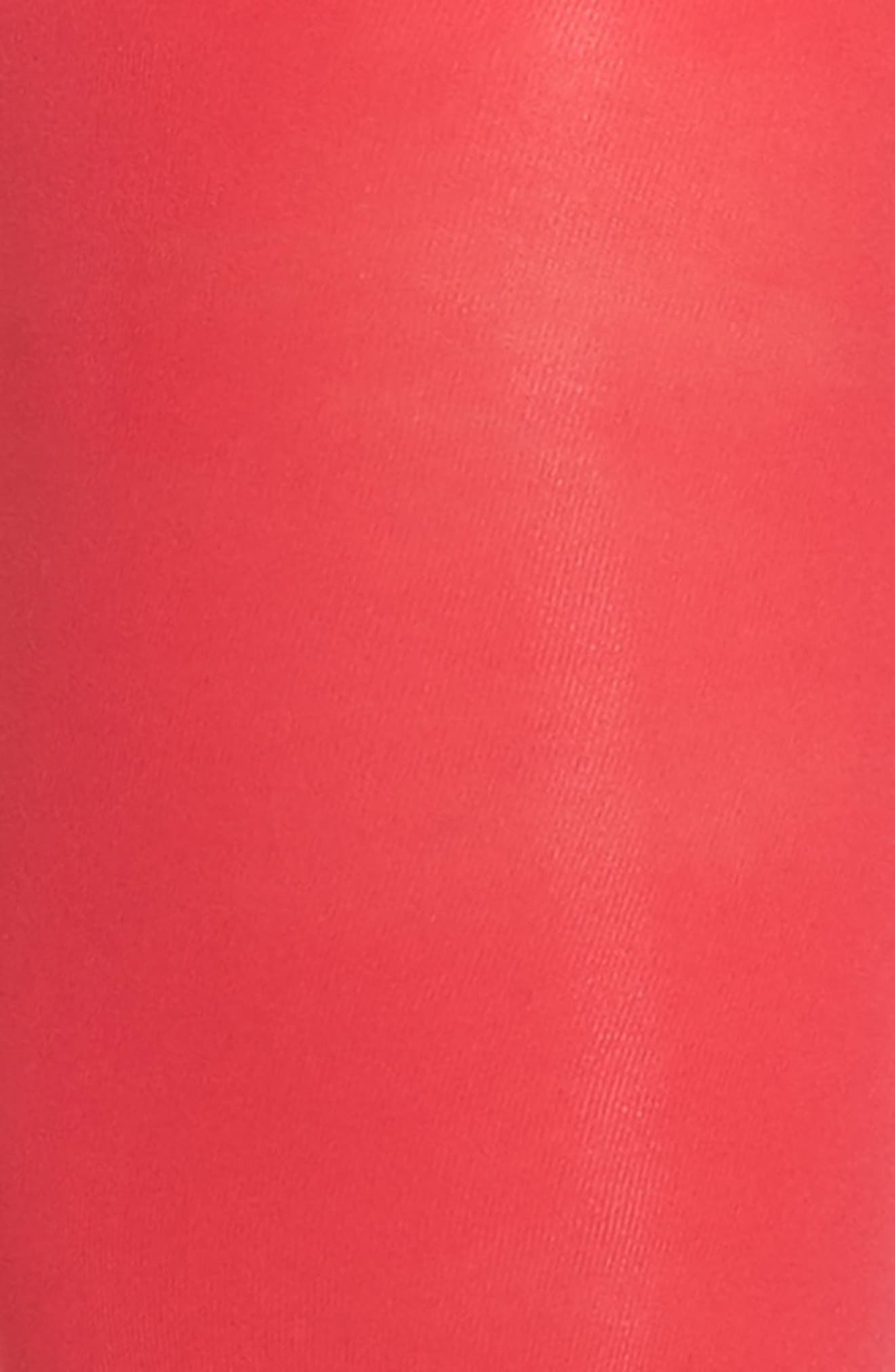 Opaque Tights,                             Alternate thumbnail 2, color,                             Pink Virtue