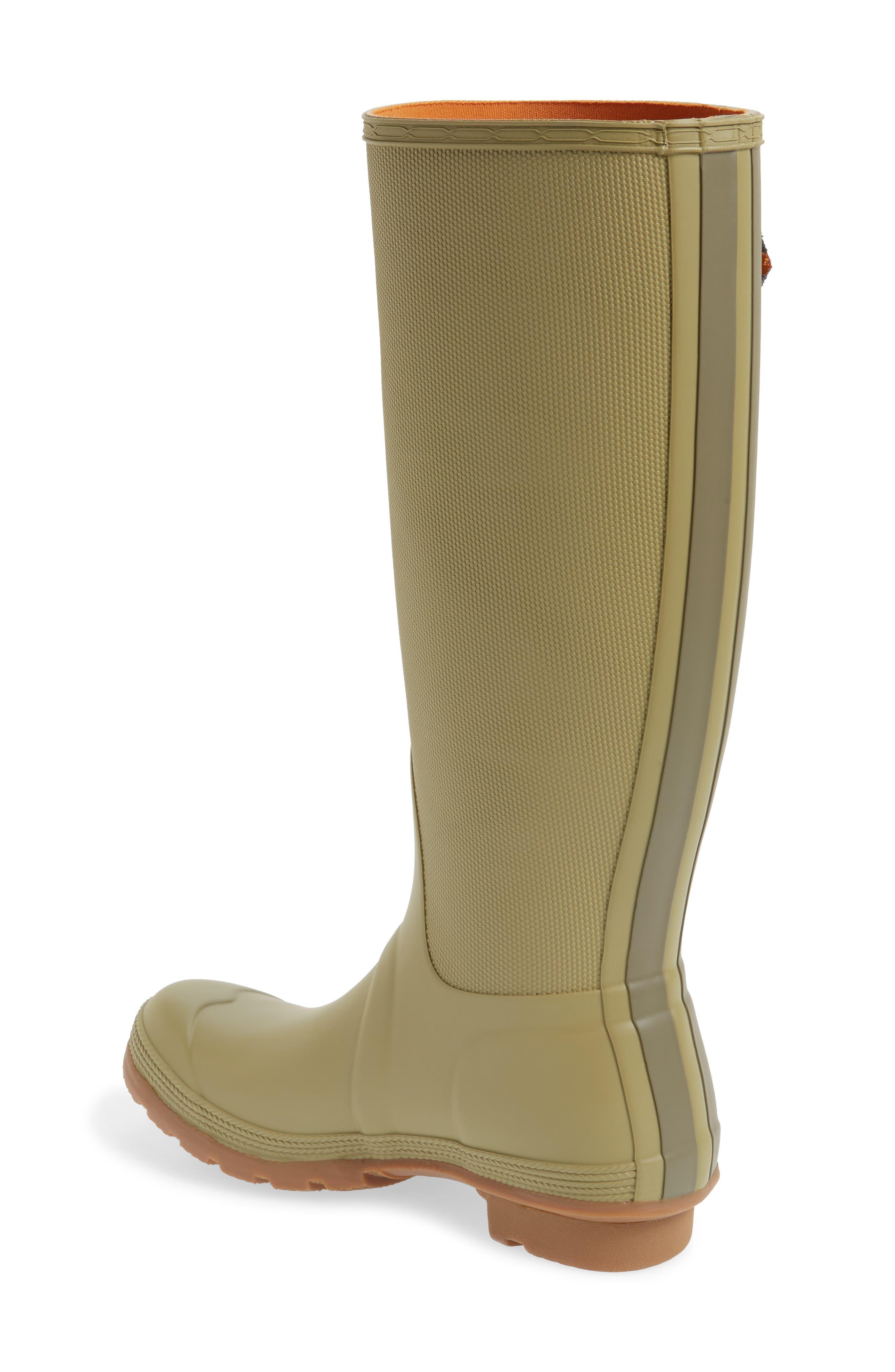 Original Sissinghurst Tall Rain Boot,                             Alternate thumbnail 2, color,                             Sage/ Moor Green