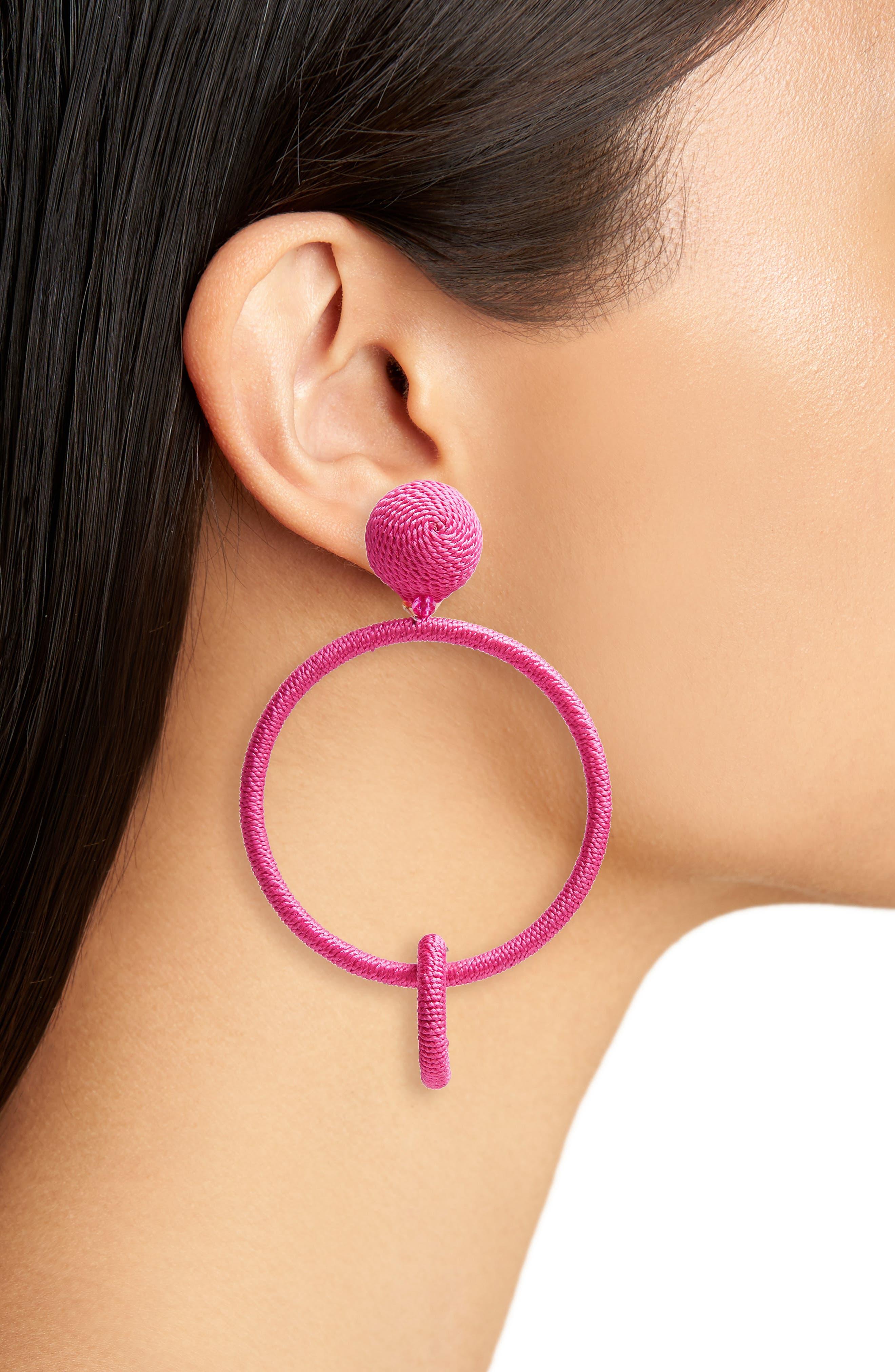 Drop Earrings,                             Alternate thumbnail 2, color,                             Spinel