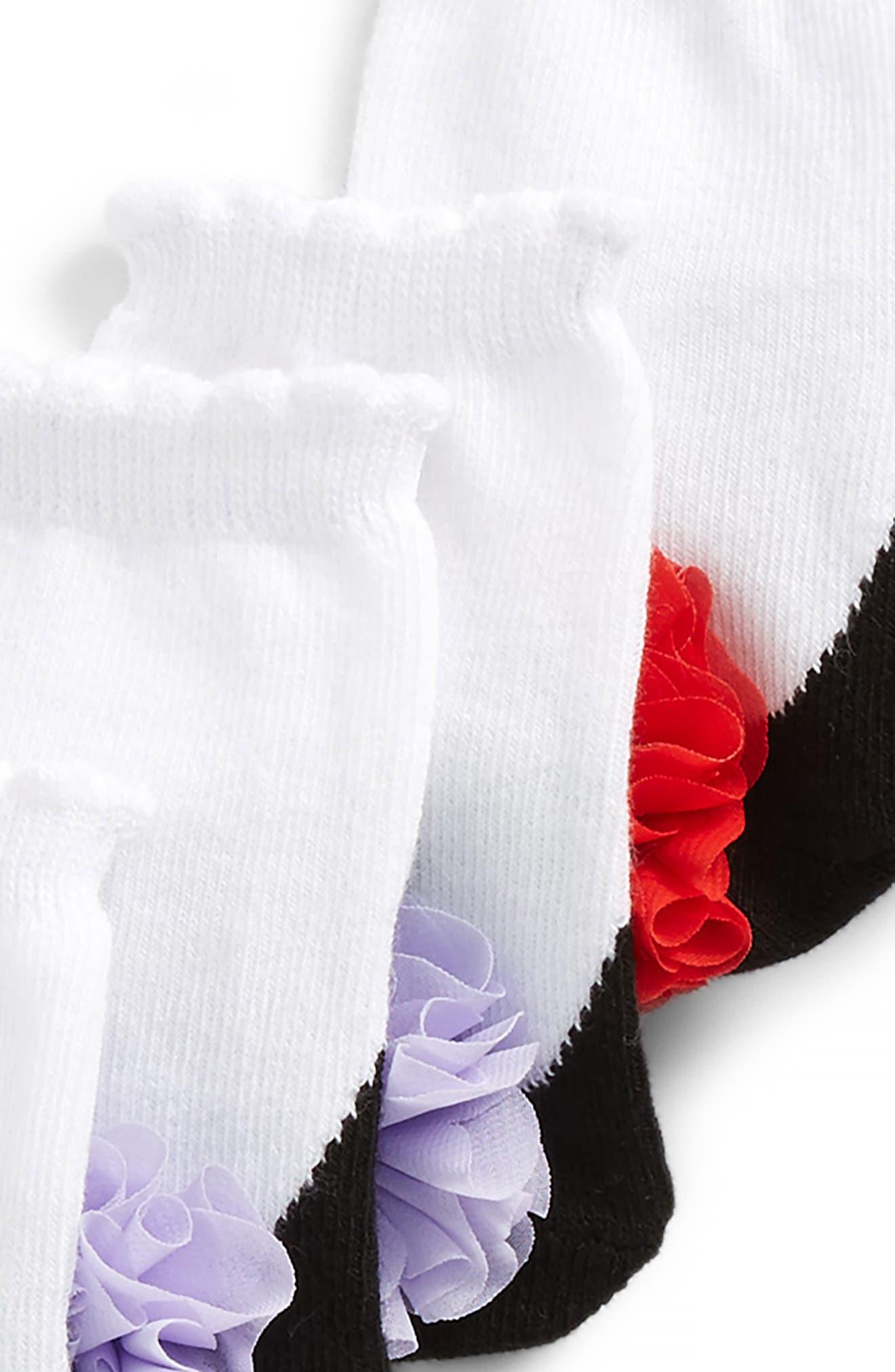Lauren's 6-Pack Socks,                             Alternate thumbnail 3, color,                             Assorted