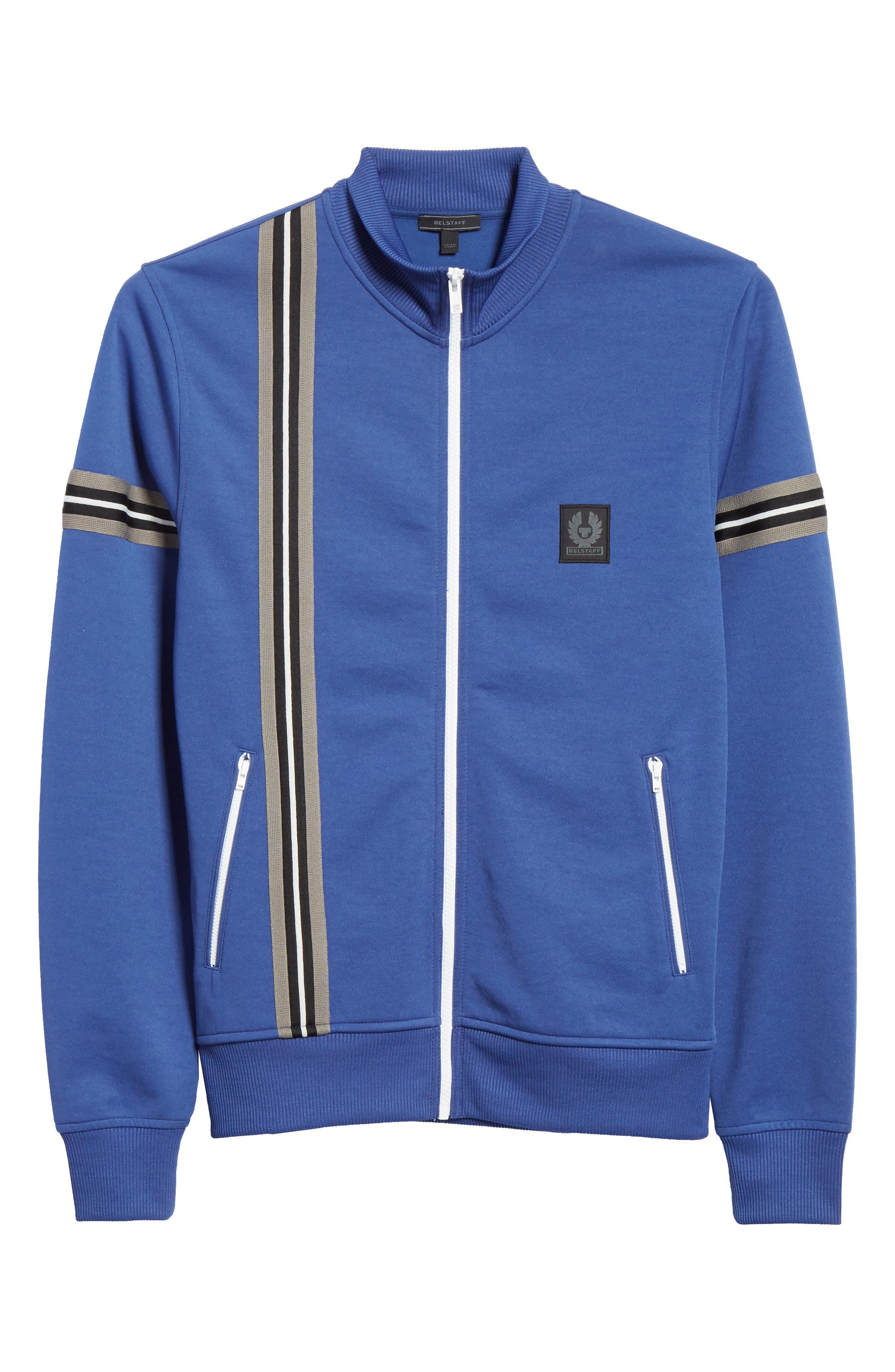 Helmsdale Track Jacket,                             Alternate thumbnail 6, color,                             Deep Electric Blue