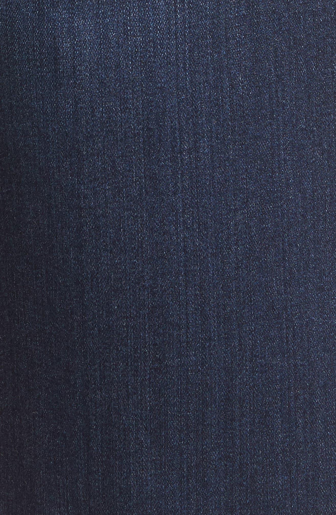 Transcend - Federal Slim Straight Leg Denim Shorts,                             Alternate thumbnail 6, color,                             Leo