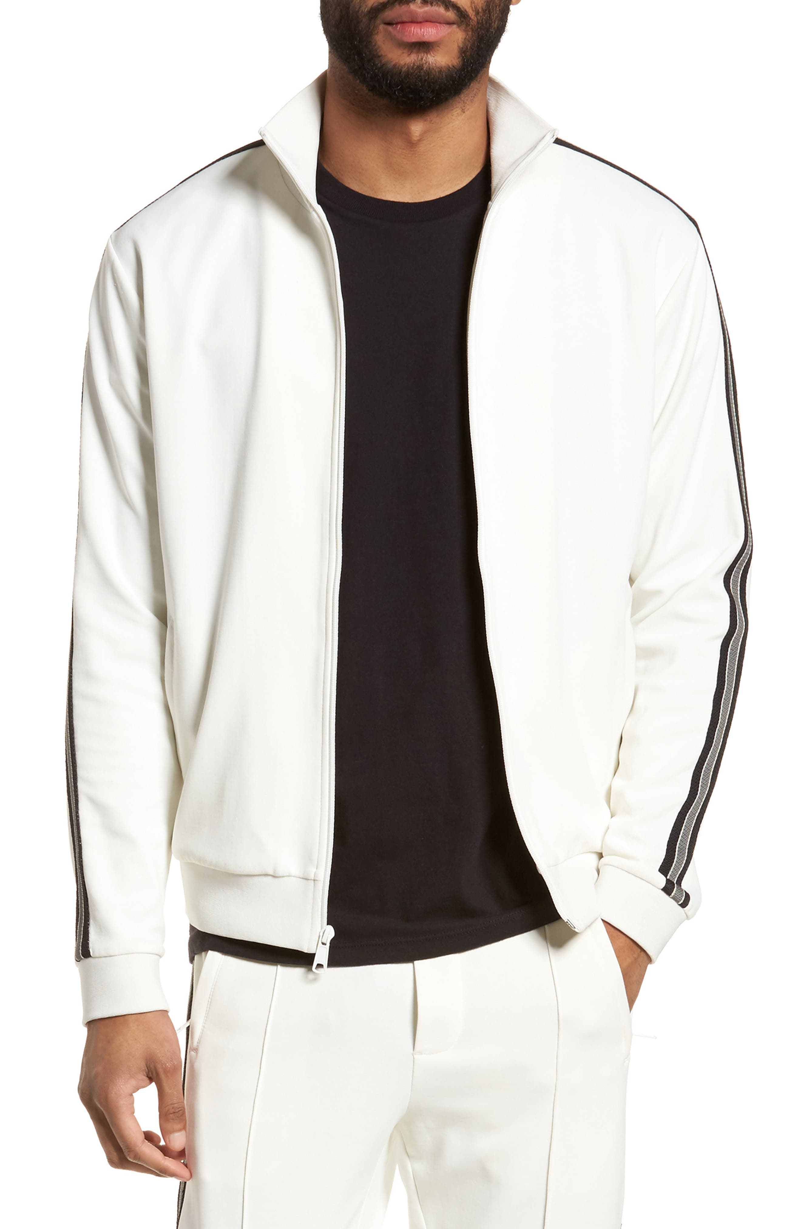 Vince Regular Fit Track Jacket