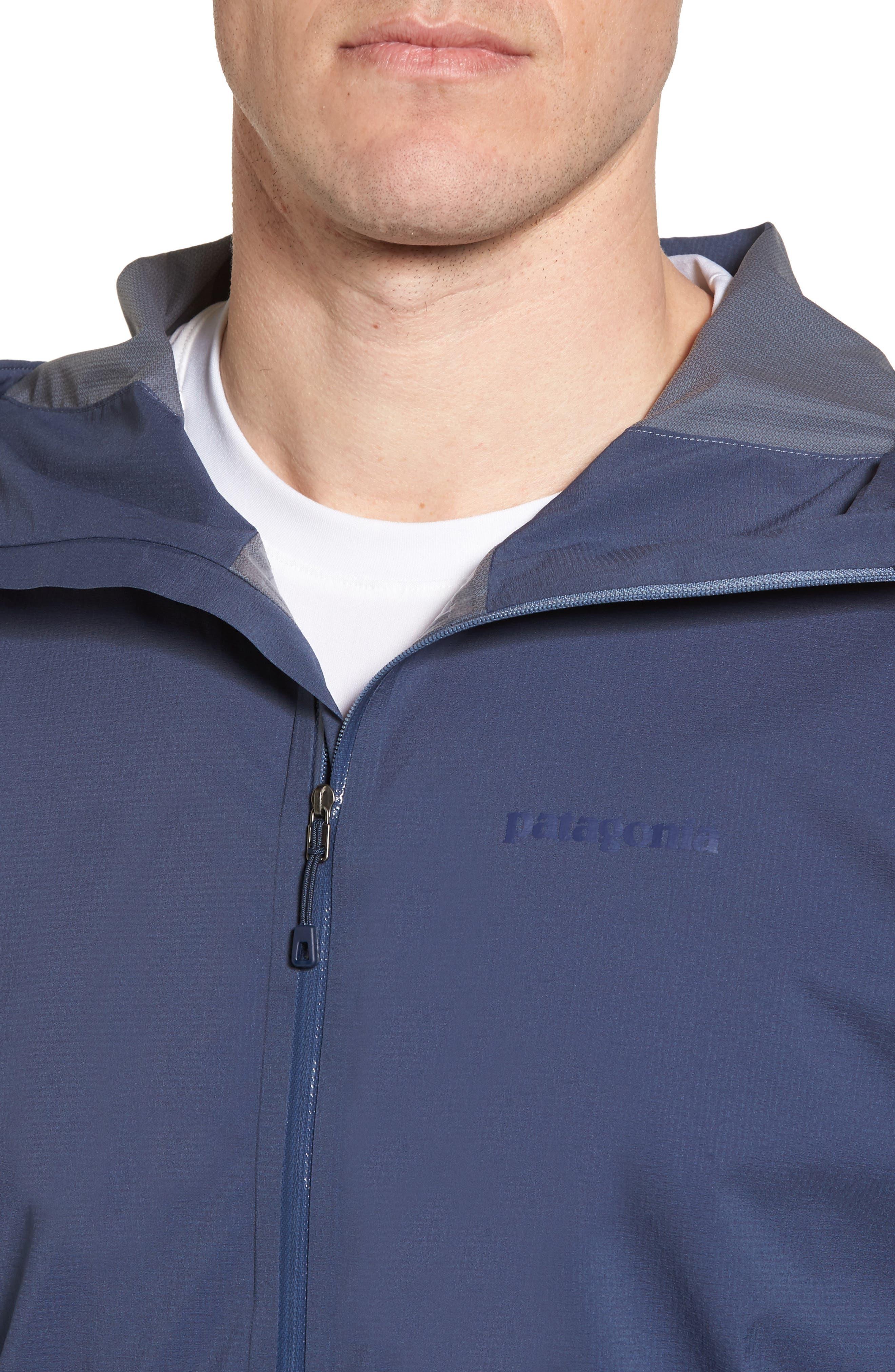 Stretch Rainshadow Jacket,                             Alternate thumbnail 4, color,                             Dolomite Blue