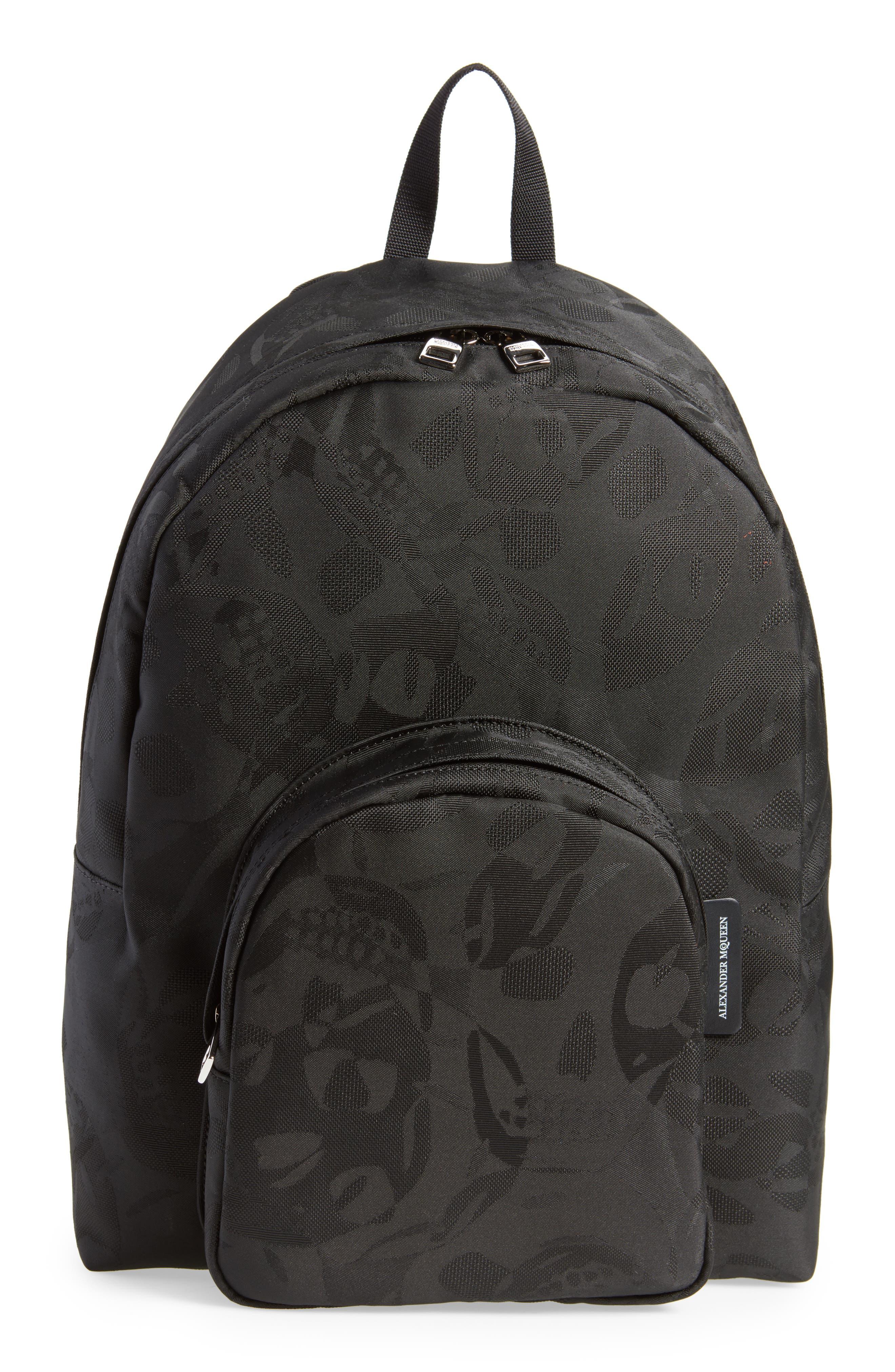Small Backpack,                             Main thumbnail 1, color,                             Black