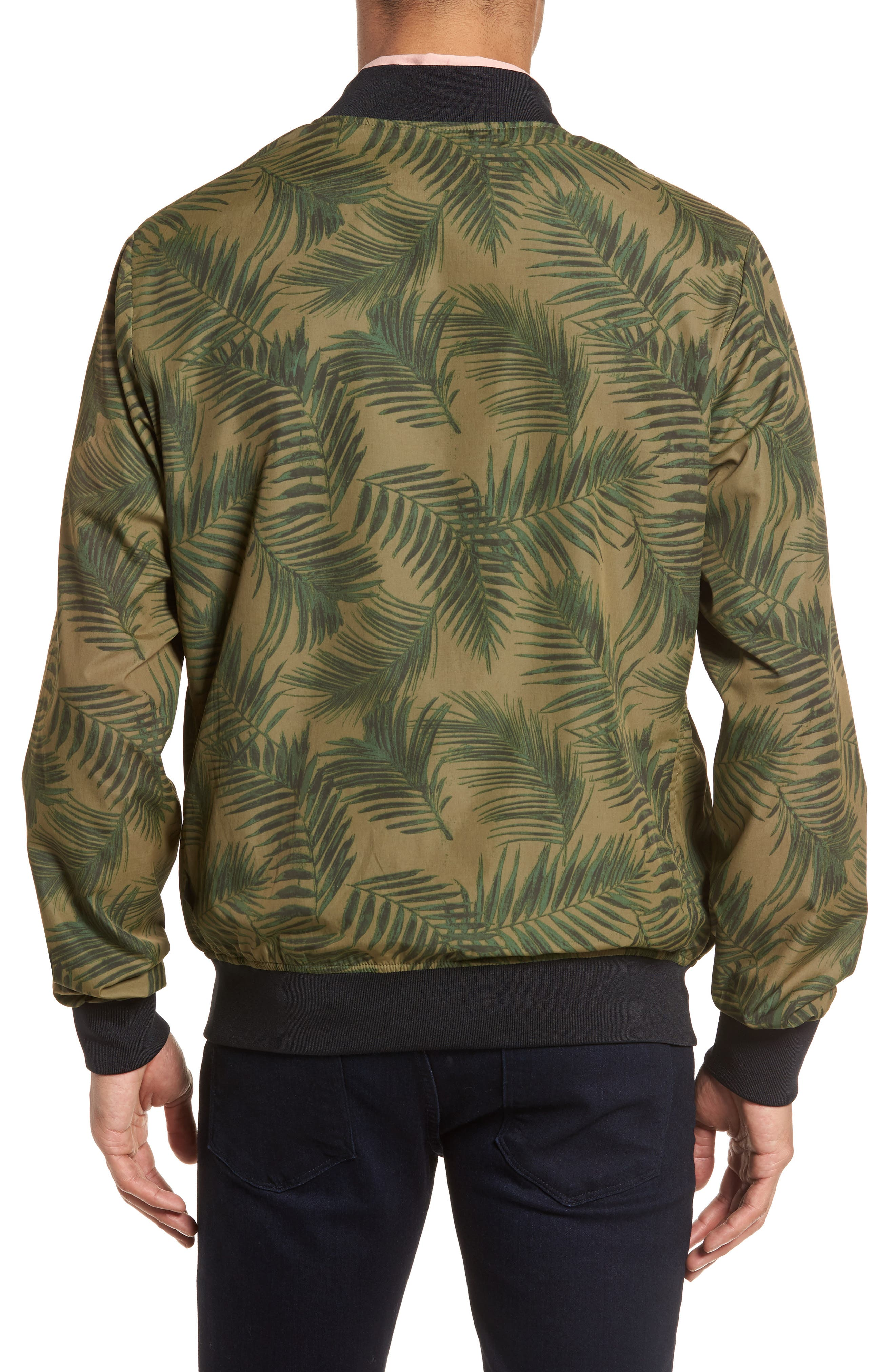 Bomber Jacket,                             Alternate thumbnail 2, color,                             Army