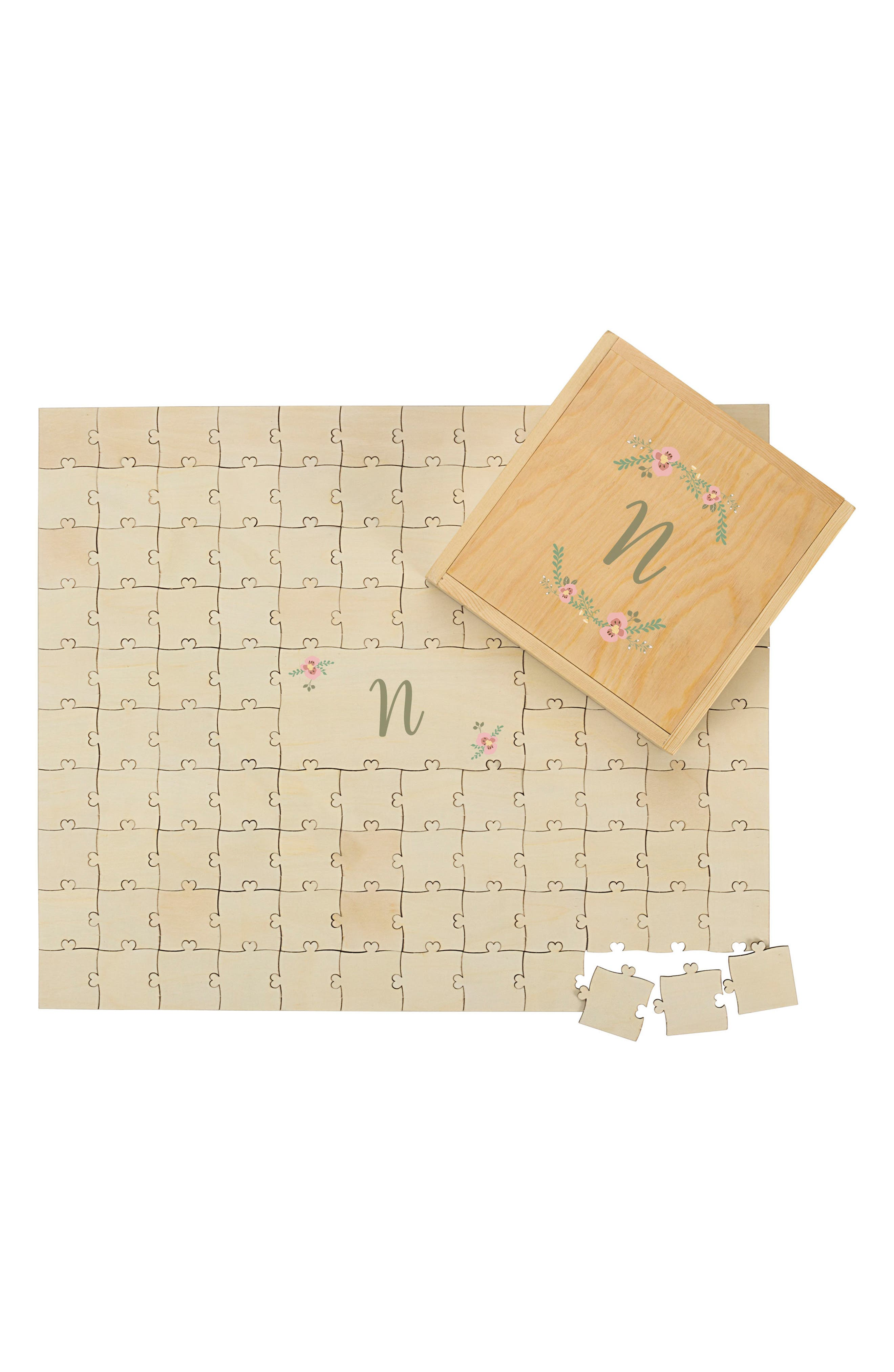 Cathy's Concepts Monogram Guest Book Puzzle