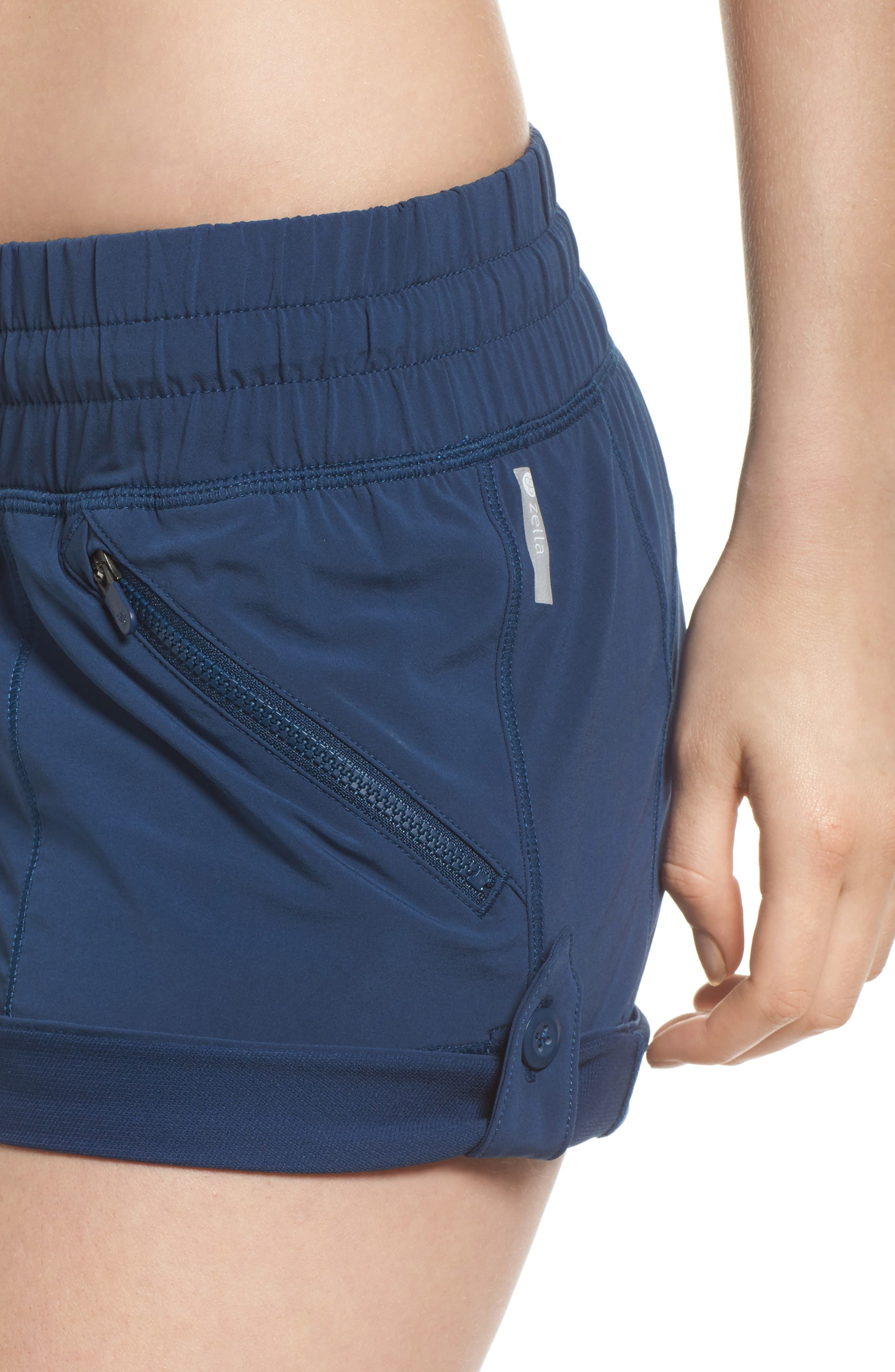 Switchback Shorts,                             Alternate thumbnail 4, color,                             Blue Insignia
