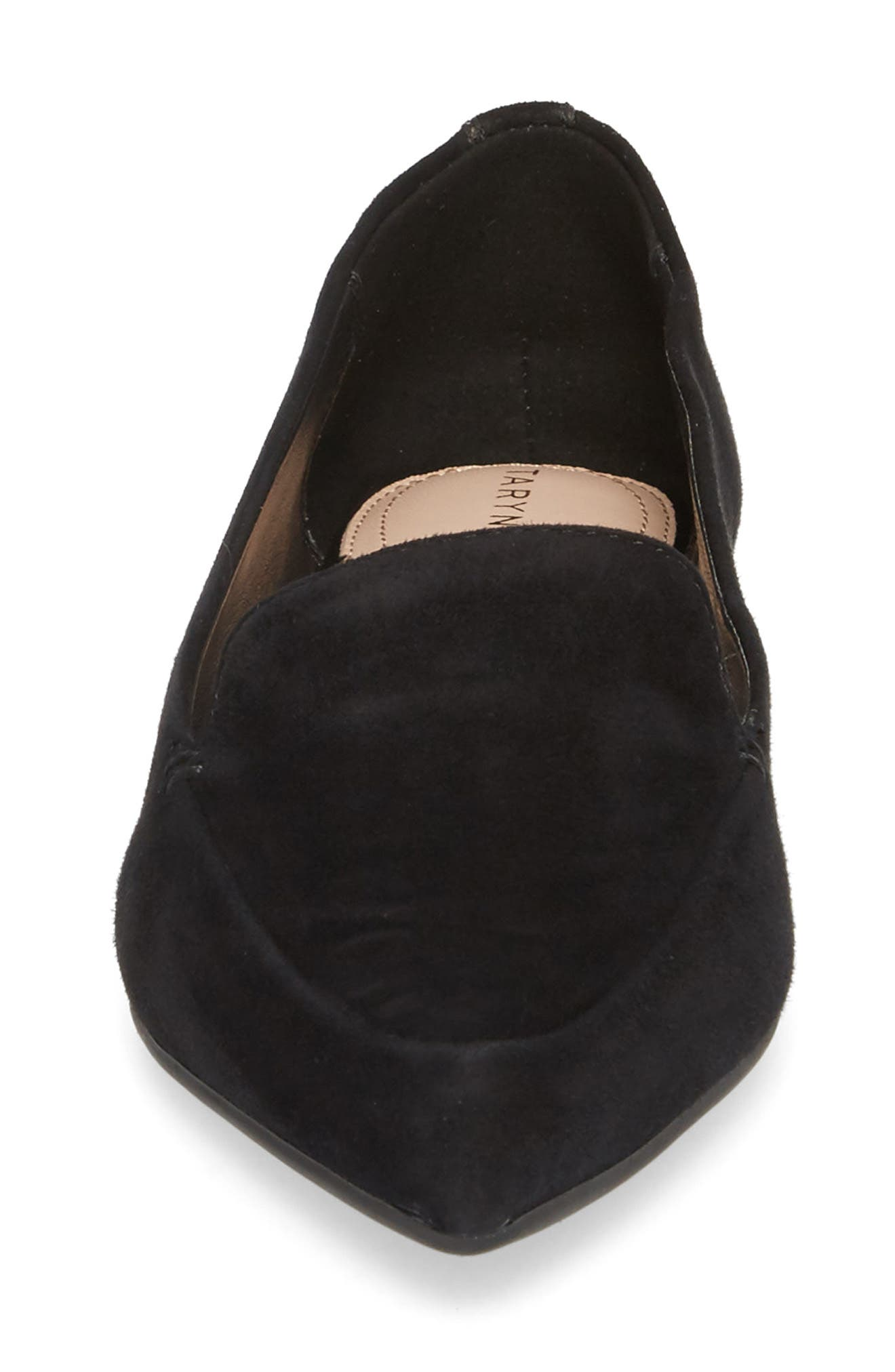 Alternate Image 4  - Taryn Rose Faye Pointy Toe Loafer (Women)
