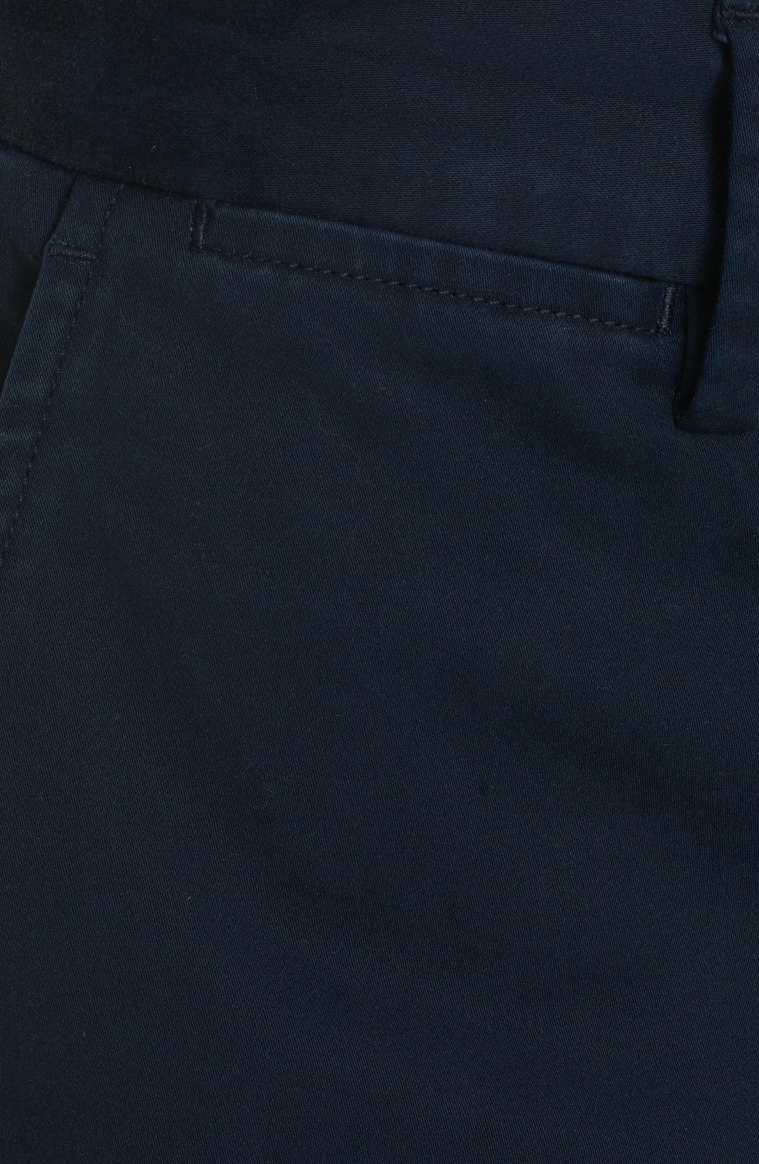 Burton Tailored Fit Pants,                             Alternate thumbnail 4, color,                             Navy