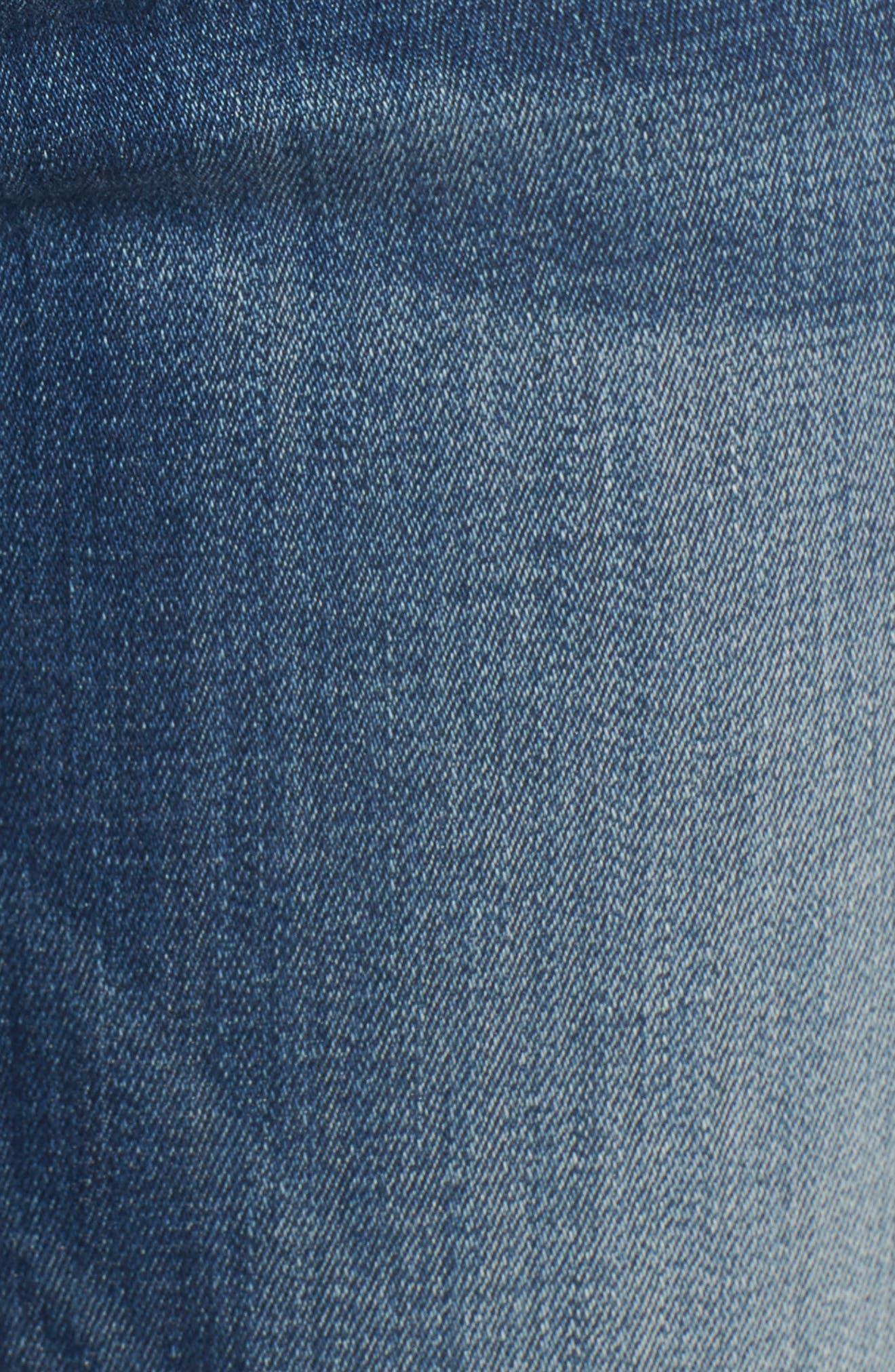 Emma Power Legging Jeans,                             Alternate thumbnail 5, color,                             Westwood