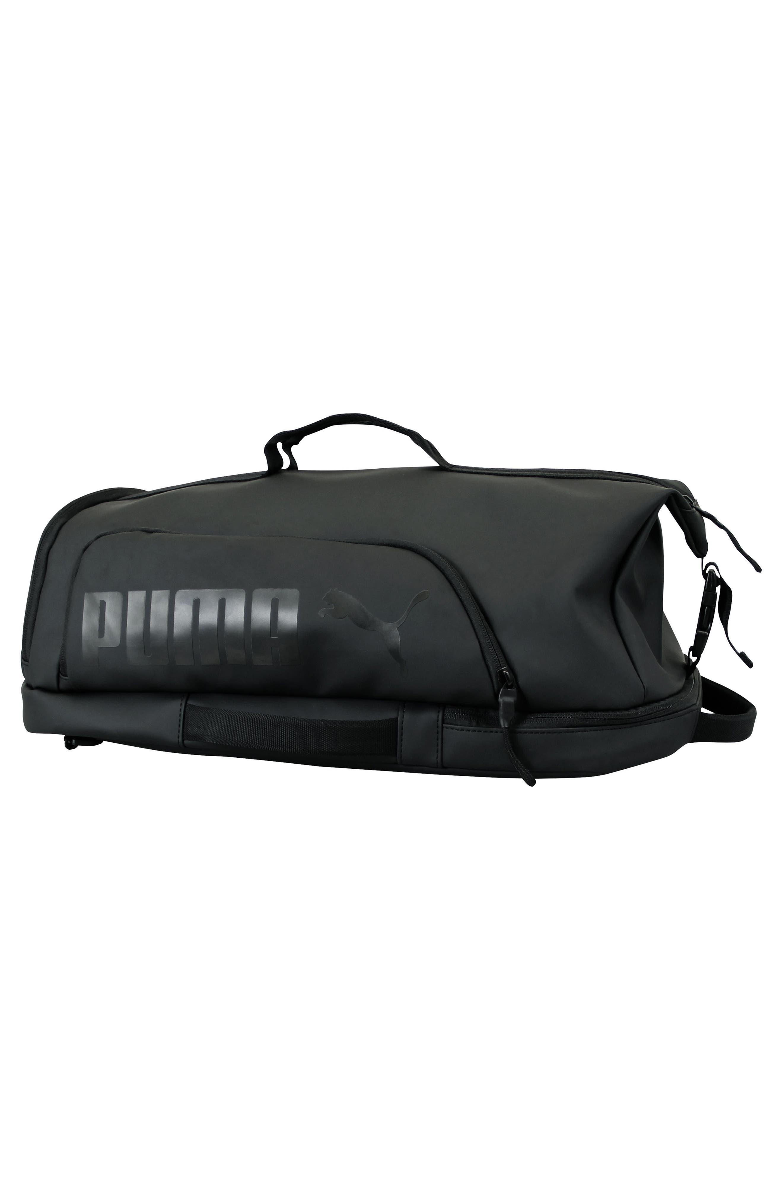 The Protocol Hybrid Duffel Backpack,                             Alternate thumbnail 3, color,                             Black