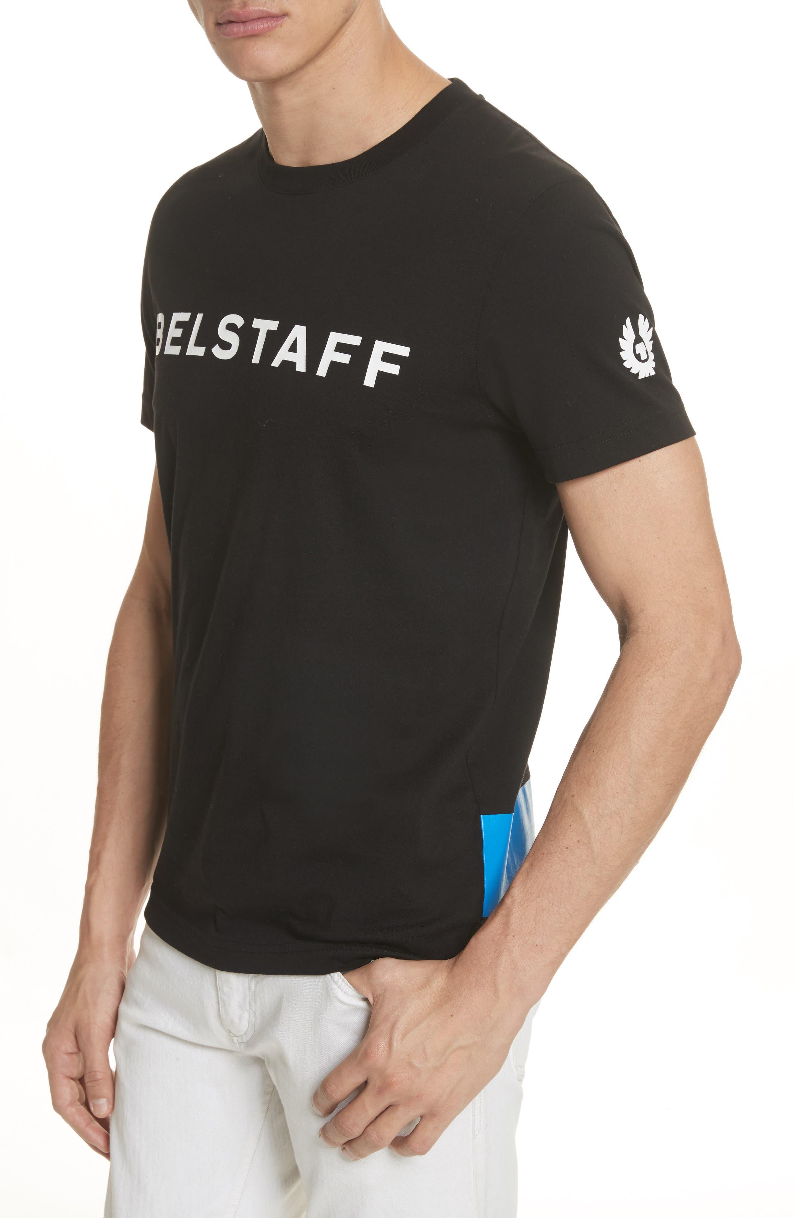 Heritage Logo Graphic T-Shirt,                             Alternate thumbnail 4, color,                             Black