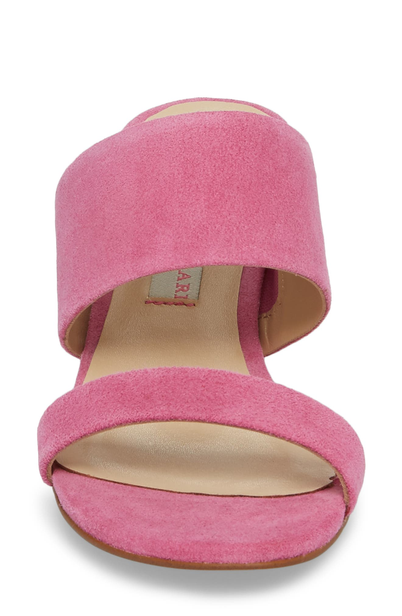 Lakeview Sandal,                             Alternate thumbnail 4, color,                             Fuchsia Suede