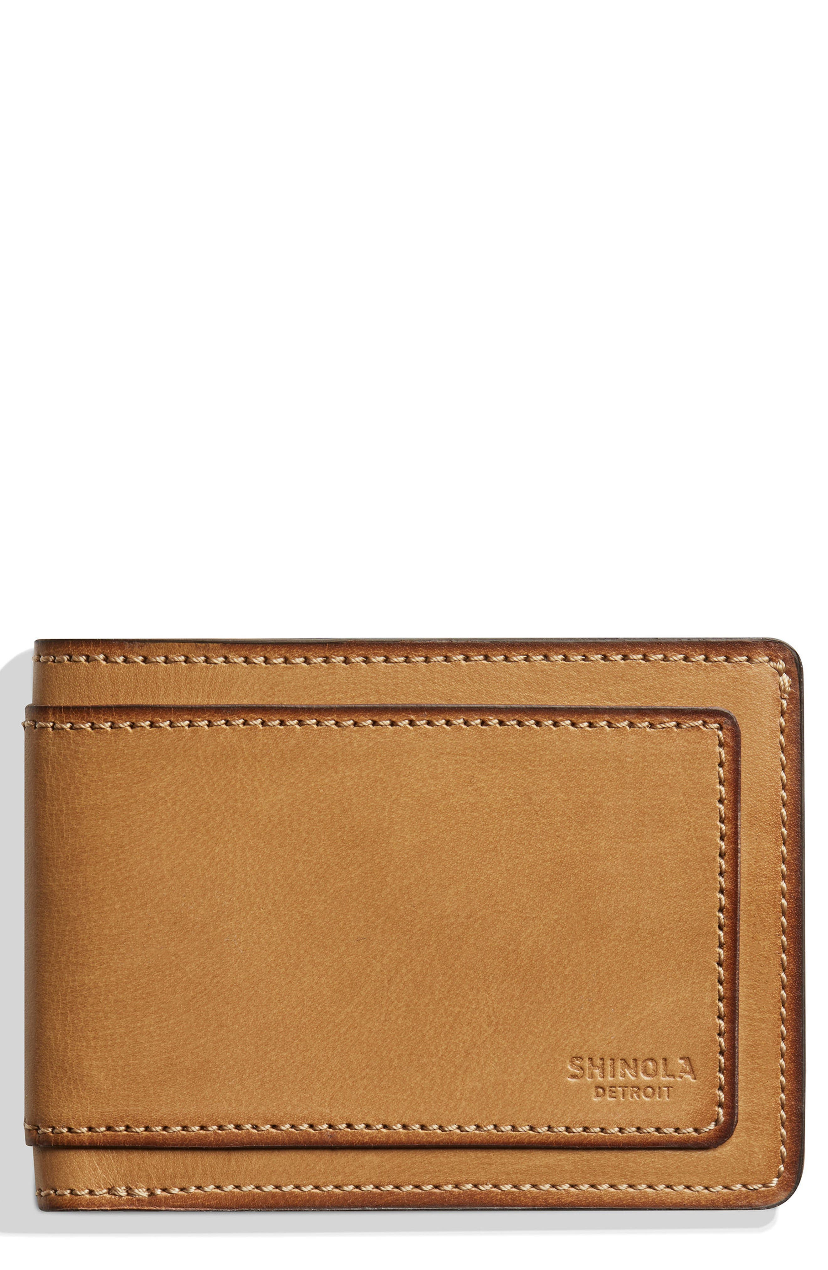Outlaw Wallet,                             Main thumbnail 1, color,                             Sand