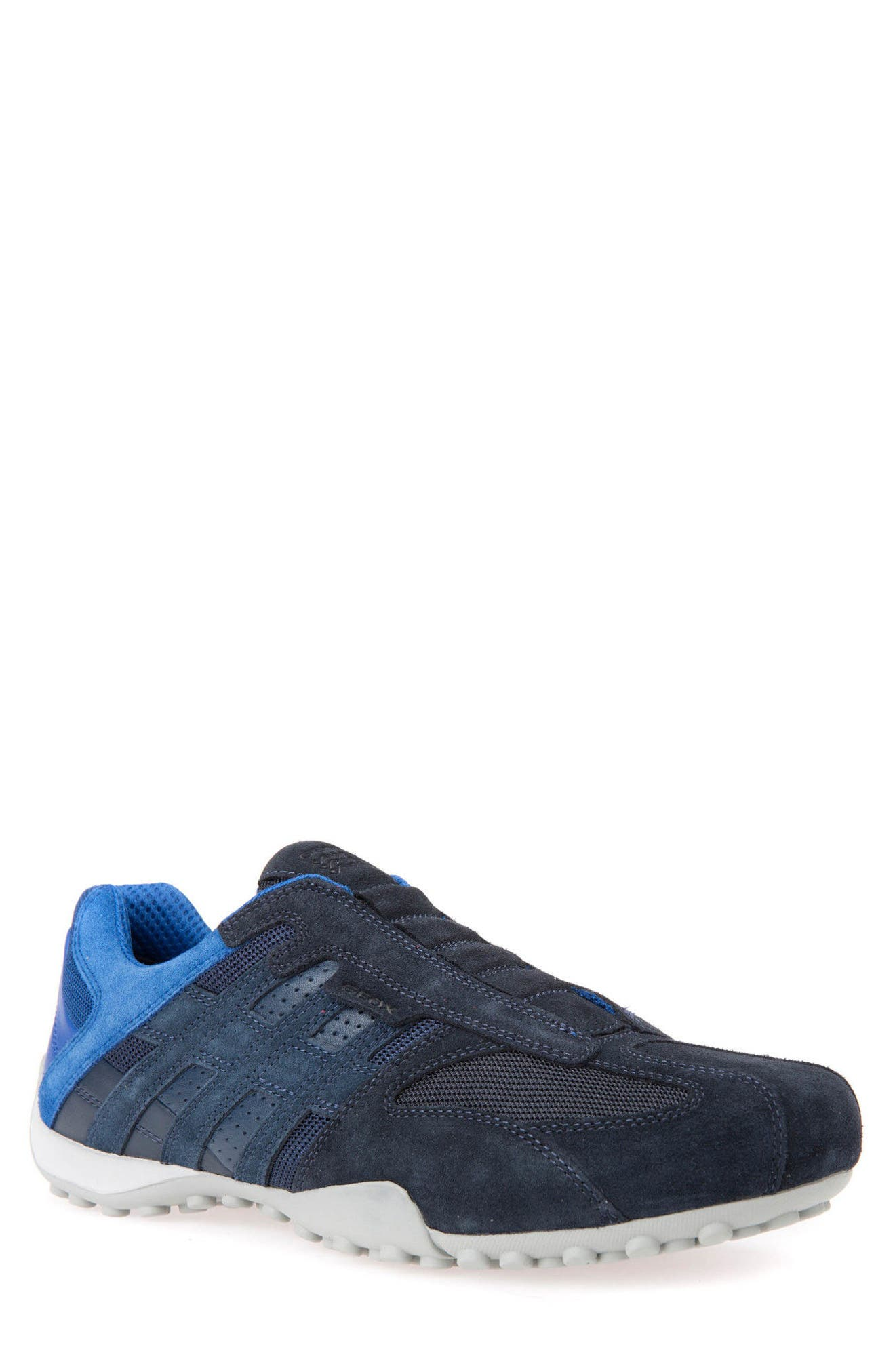 Snake 126 Laceless Low Top Sneaker,                         Main,                         color, Navy
