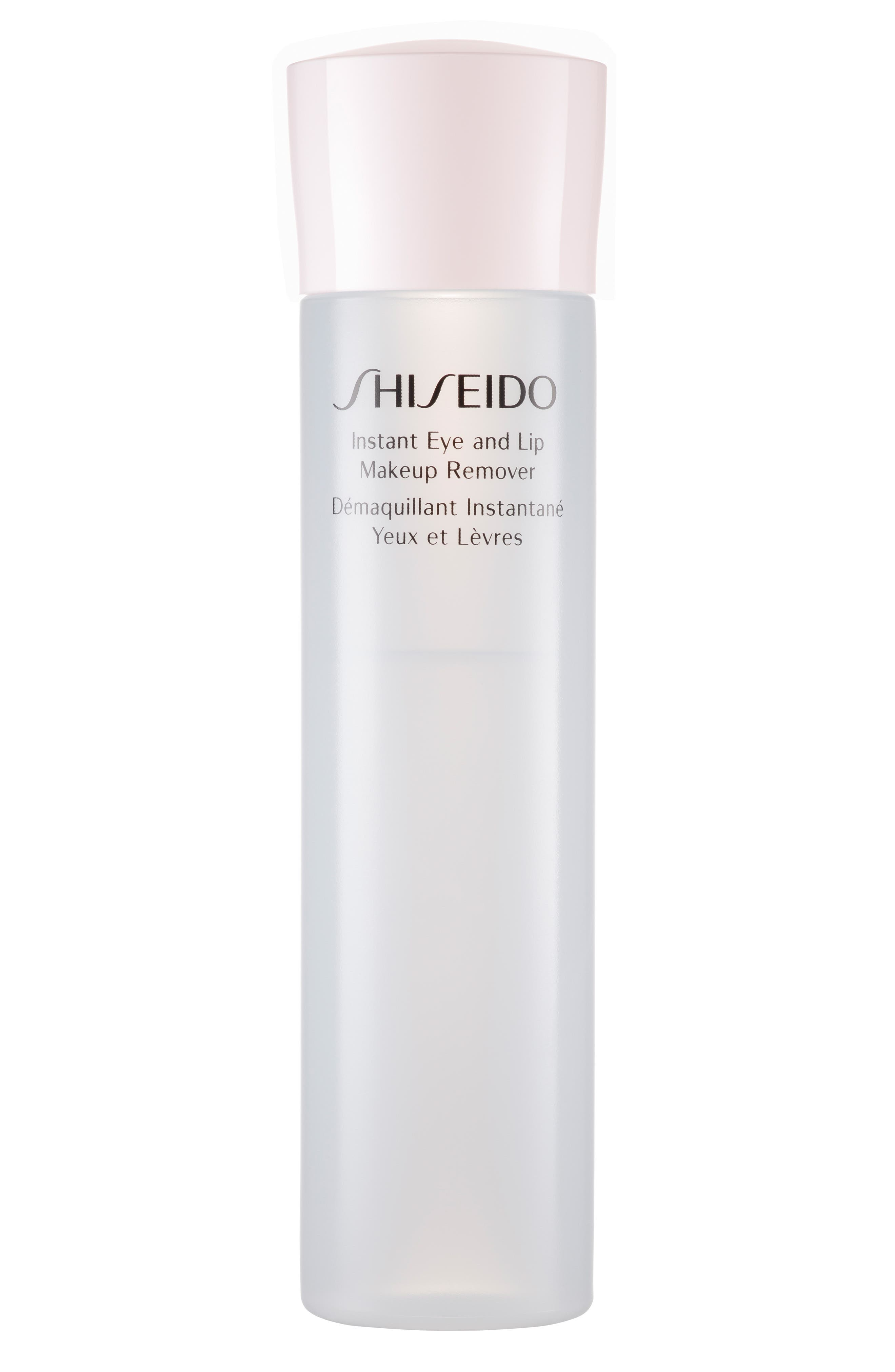 Main Image - Shiseido 'Essentials' Instant Eye & Lip Makeup Remover