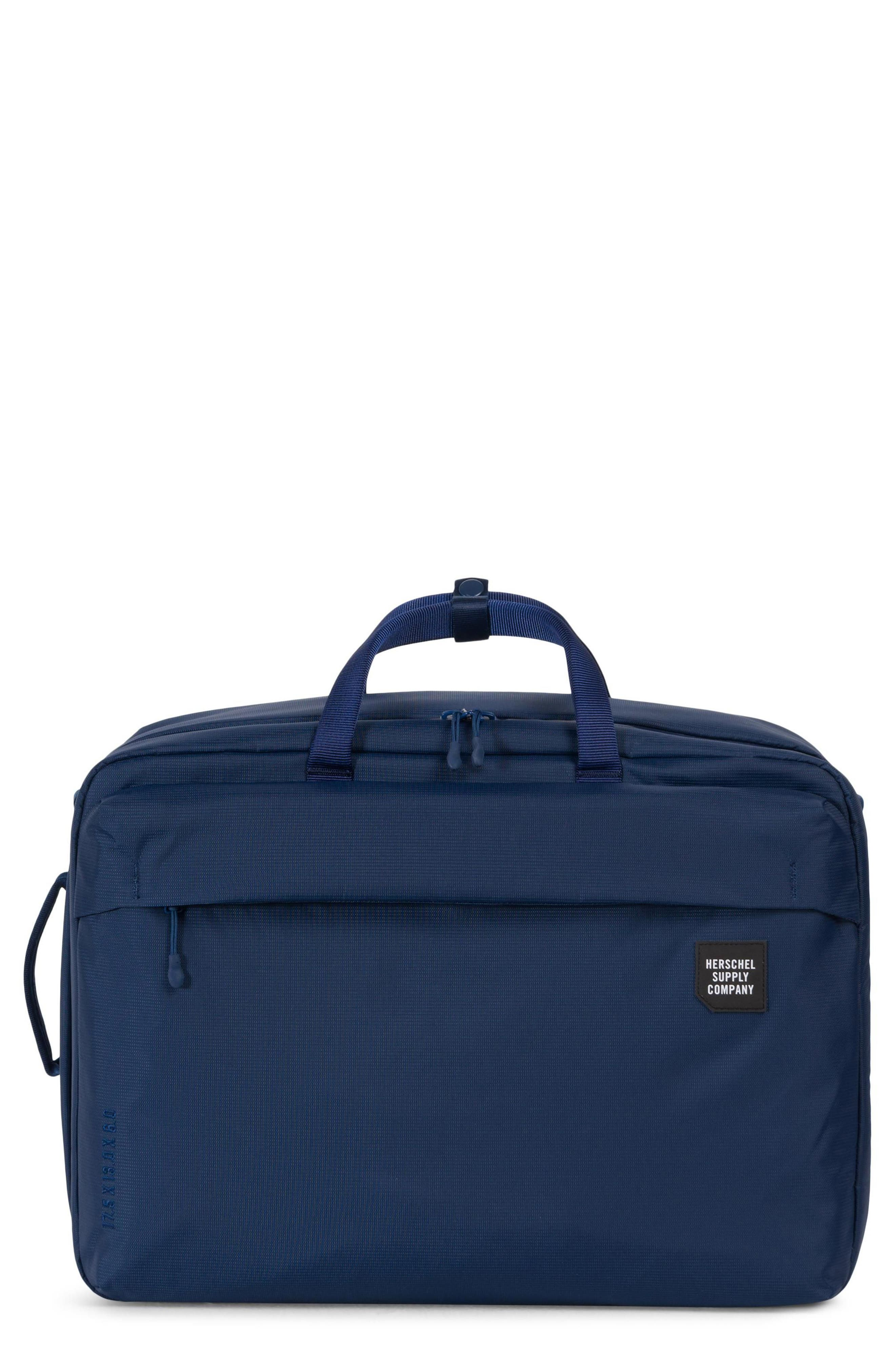 Britannia XL Convertible Messenger Bag,                         Main,                         color, Blue