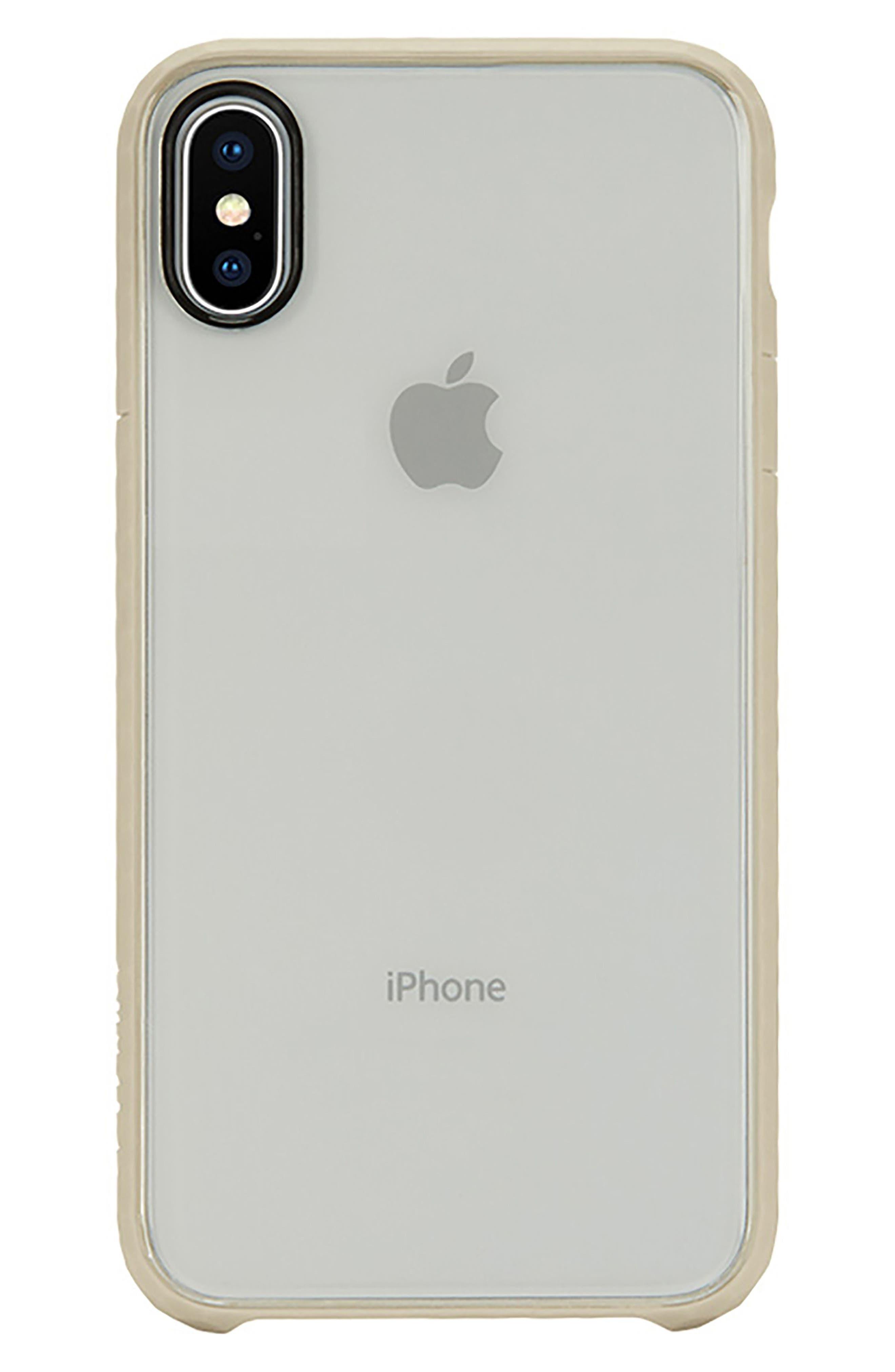 Pop iPhone X Case,                             Main thumbnail 1, color,                             Gold