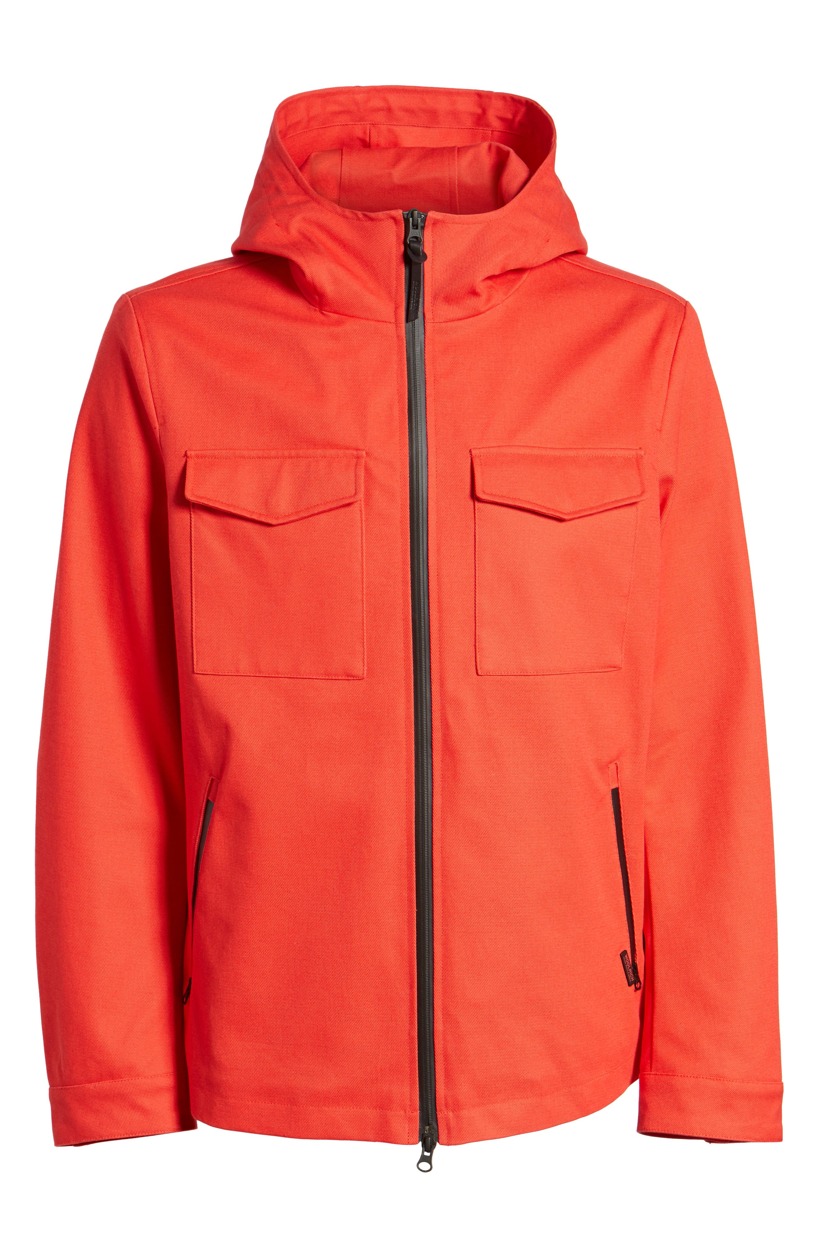 & Bros. Crew Field Jacket,                             Alternate thumbnail 6, color,                             Aurora Red