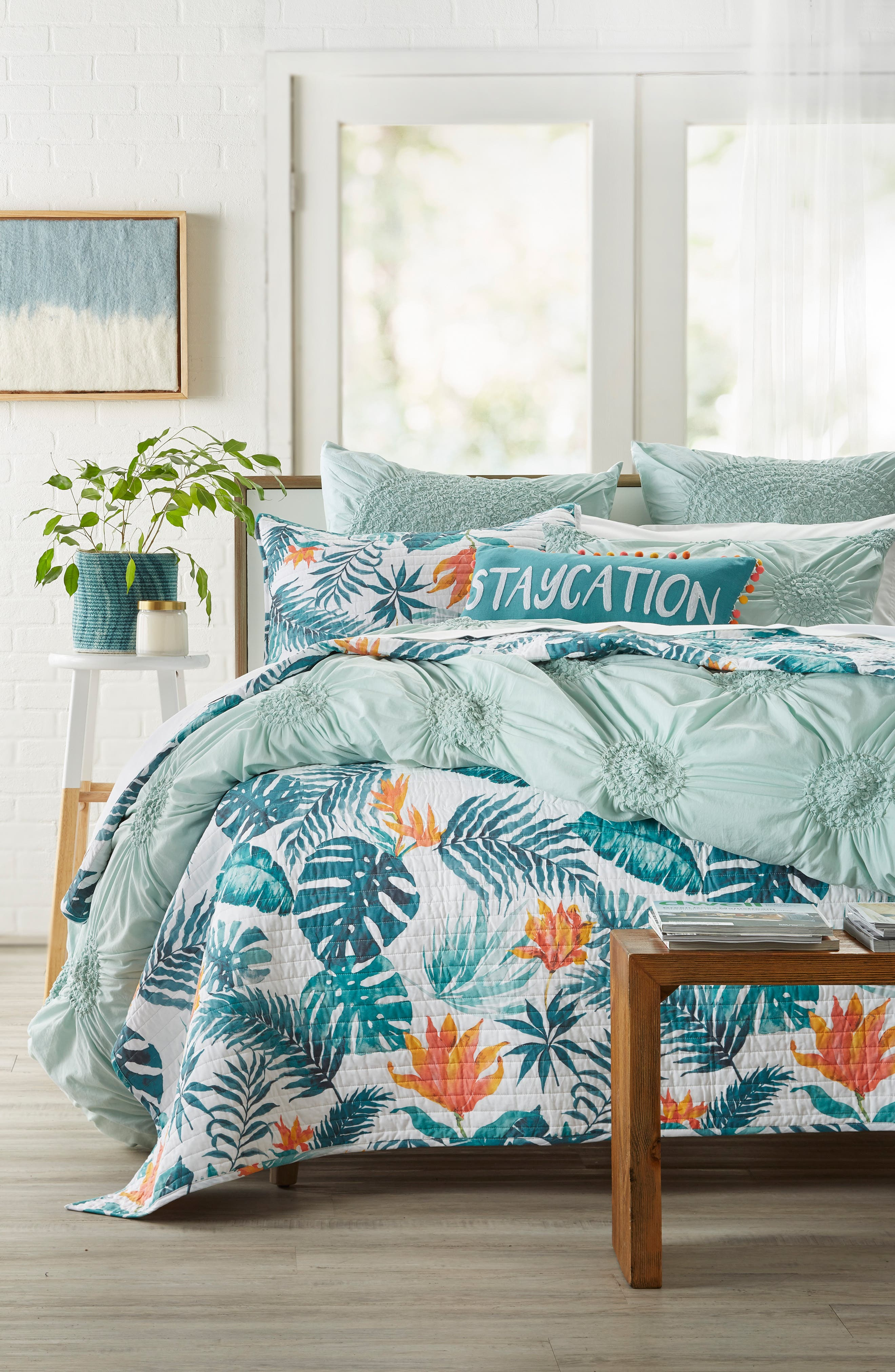 Carmen Staycation Accent Pillow,                             Alternate thumbnail 2, color,                             Blue