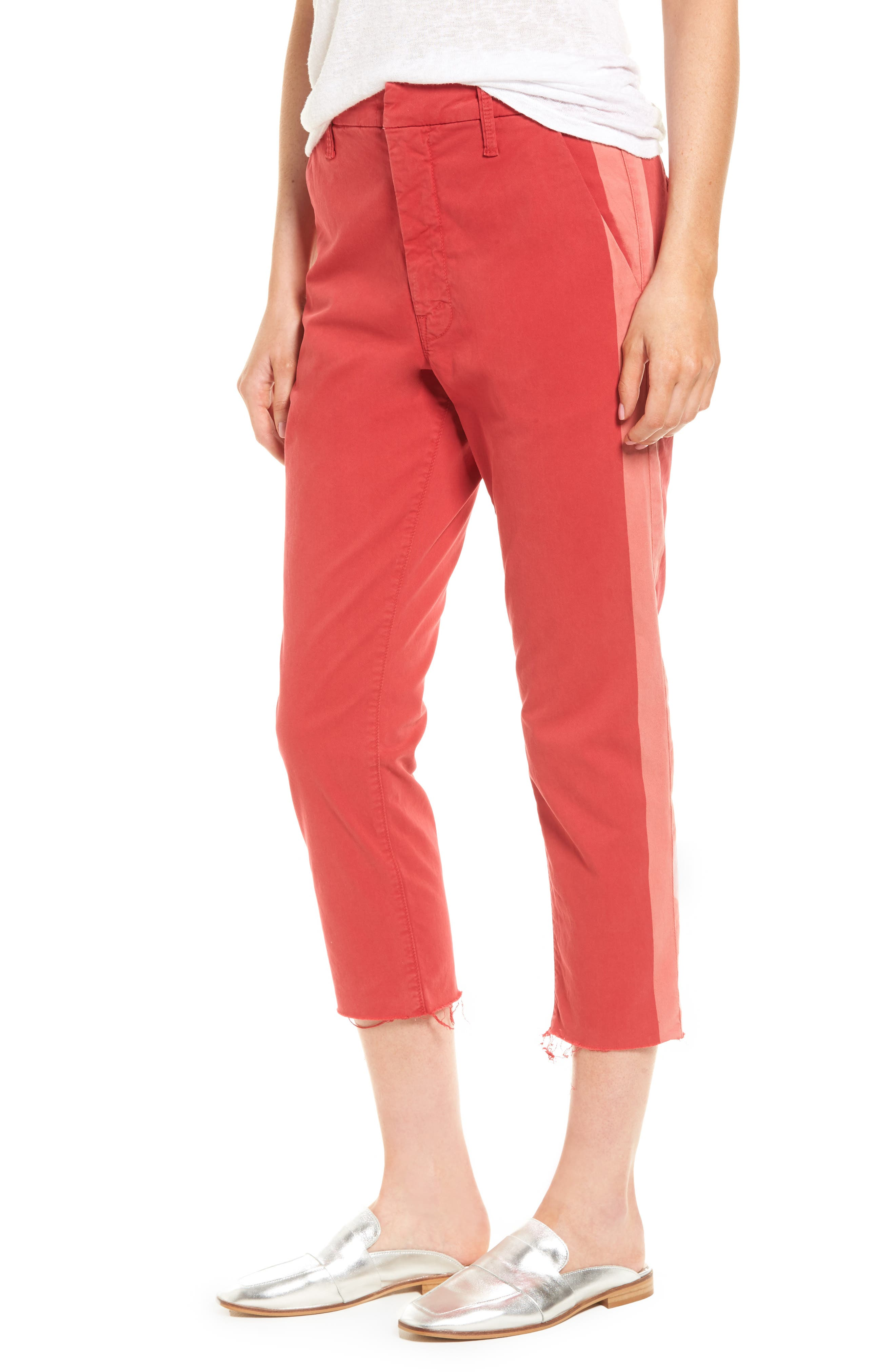 MOTHER The Shaker Prep High Waist Crop Chinos